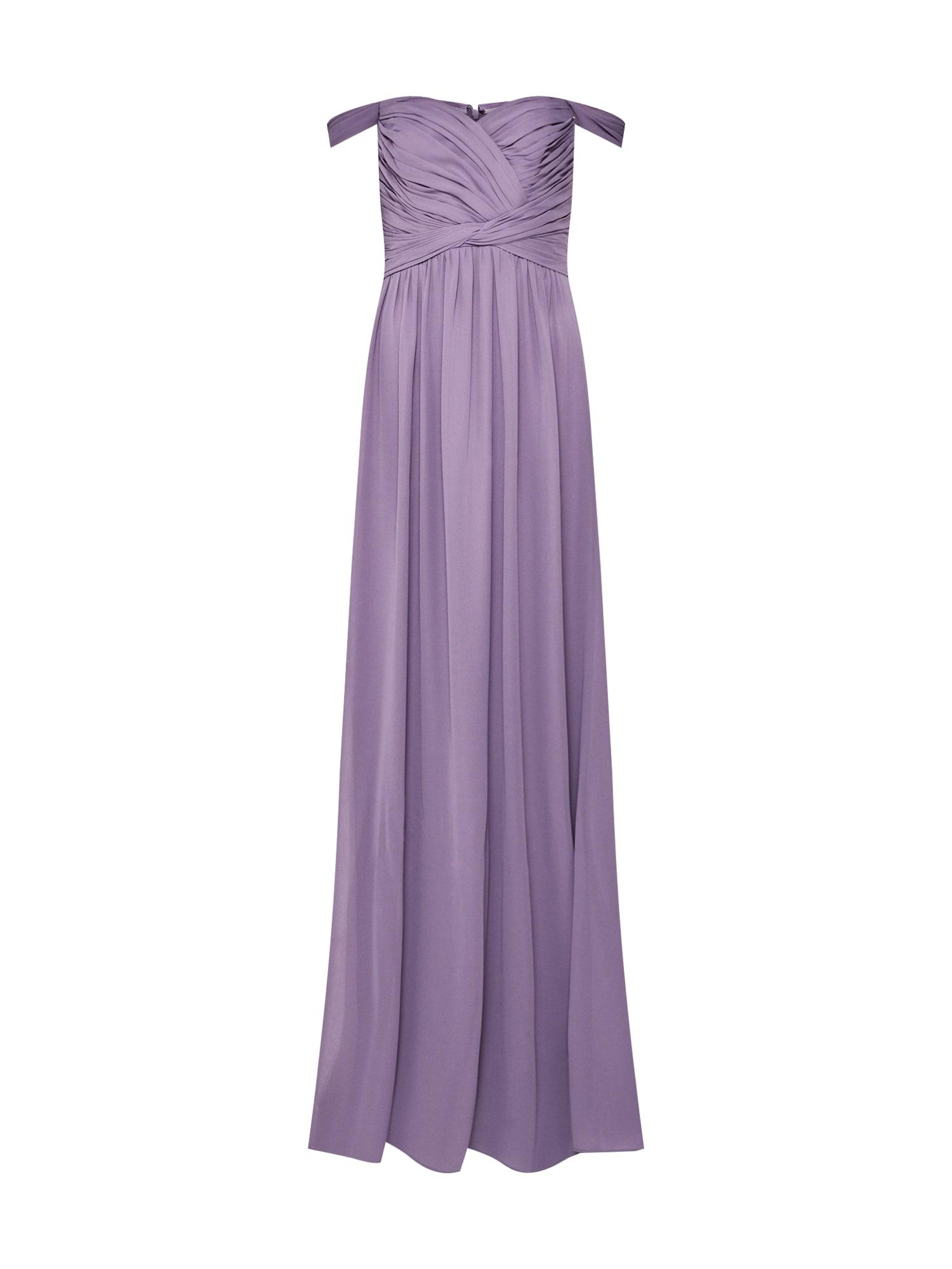 STAR NIGHT Vakarinė suknelė alyvinė spalva