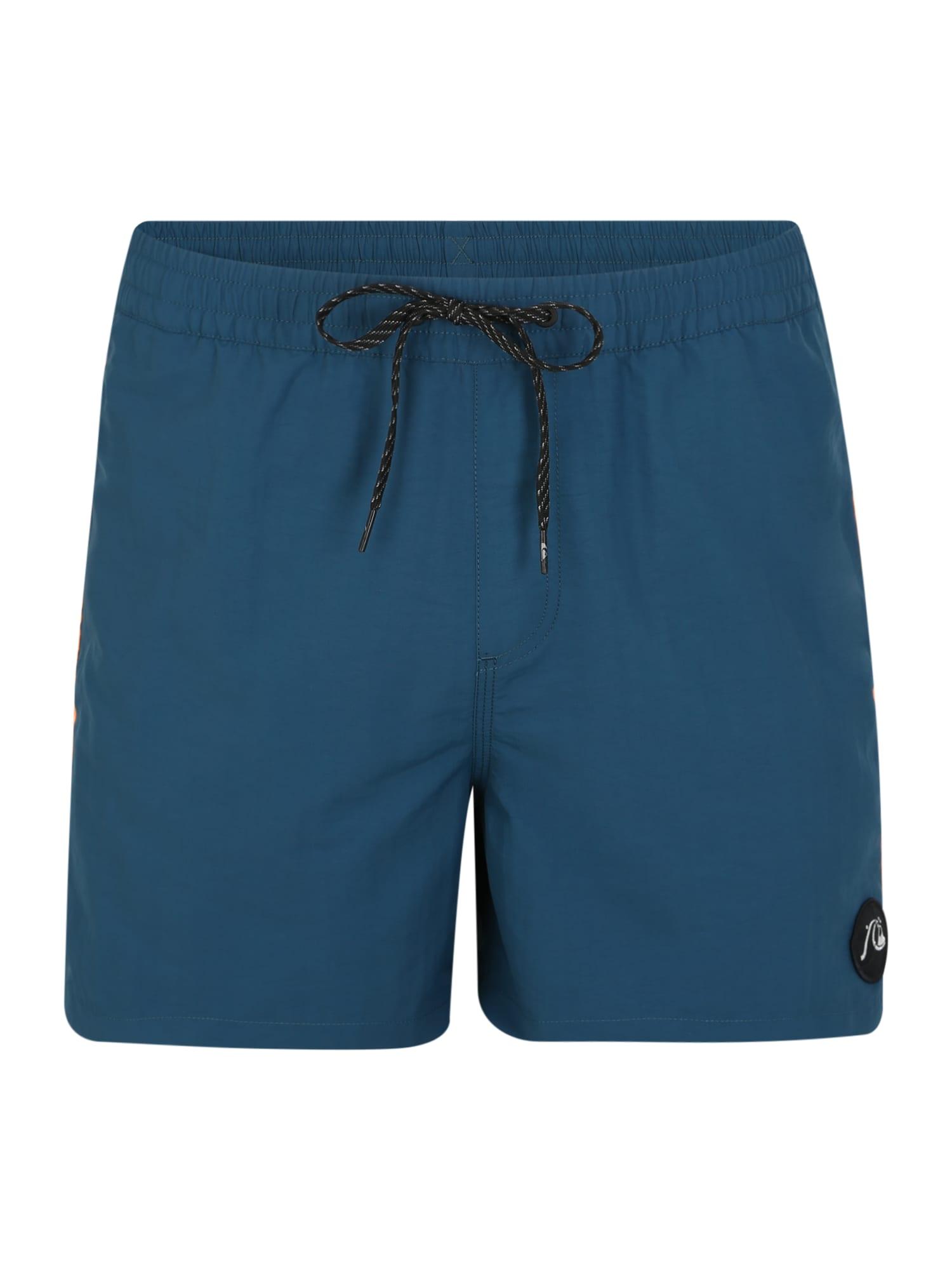 QUIKSILVER Plavecké šortky 'BPLEASEVLY16'  oranžová / modré