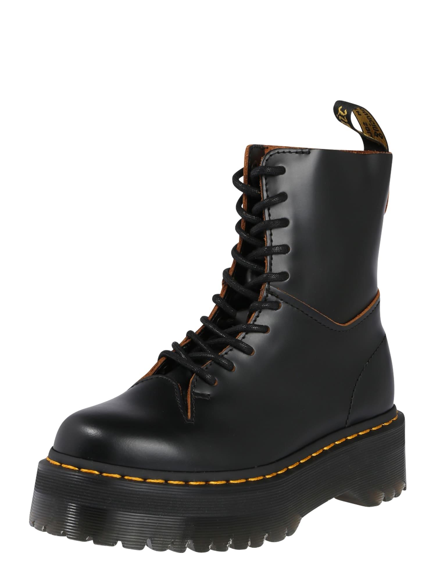 Dr. Martens Auliniai batai su kulniuku 'Jadon Decon' juoda