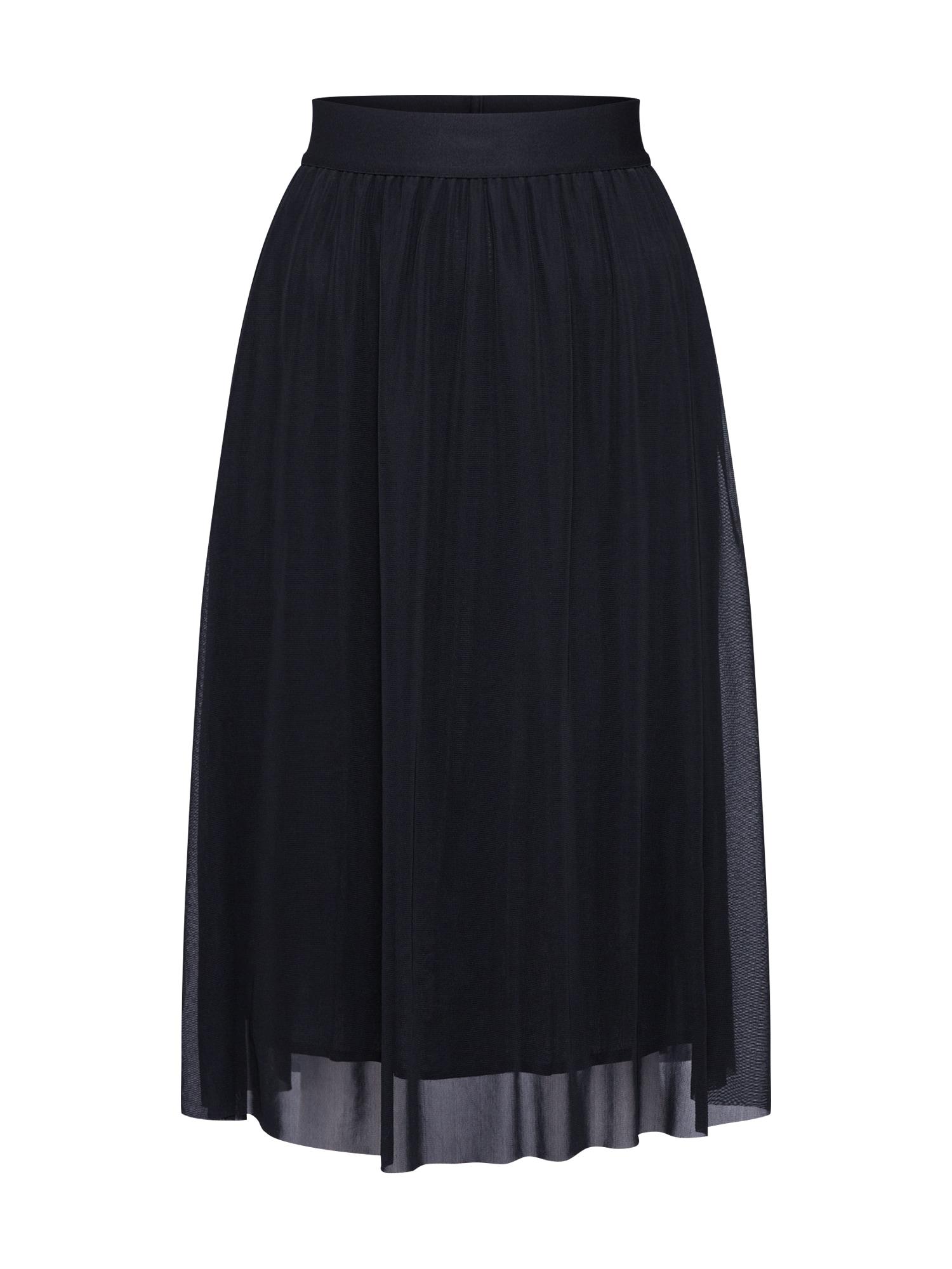 Sukně Thora Violet Skirt černá BRUUNS BAZAAR