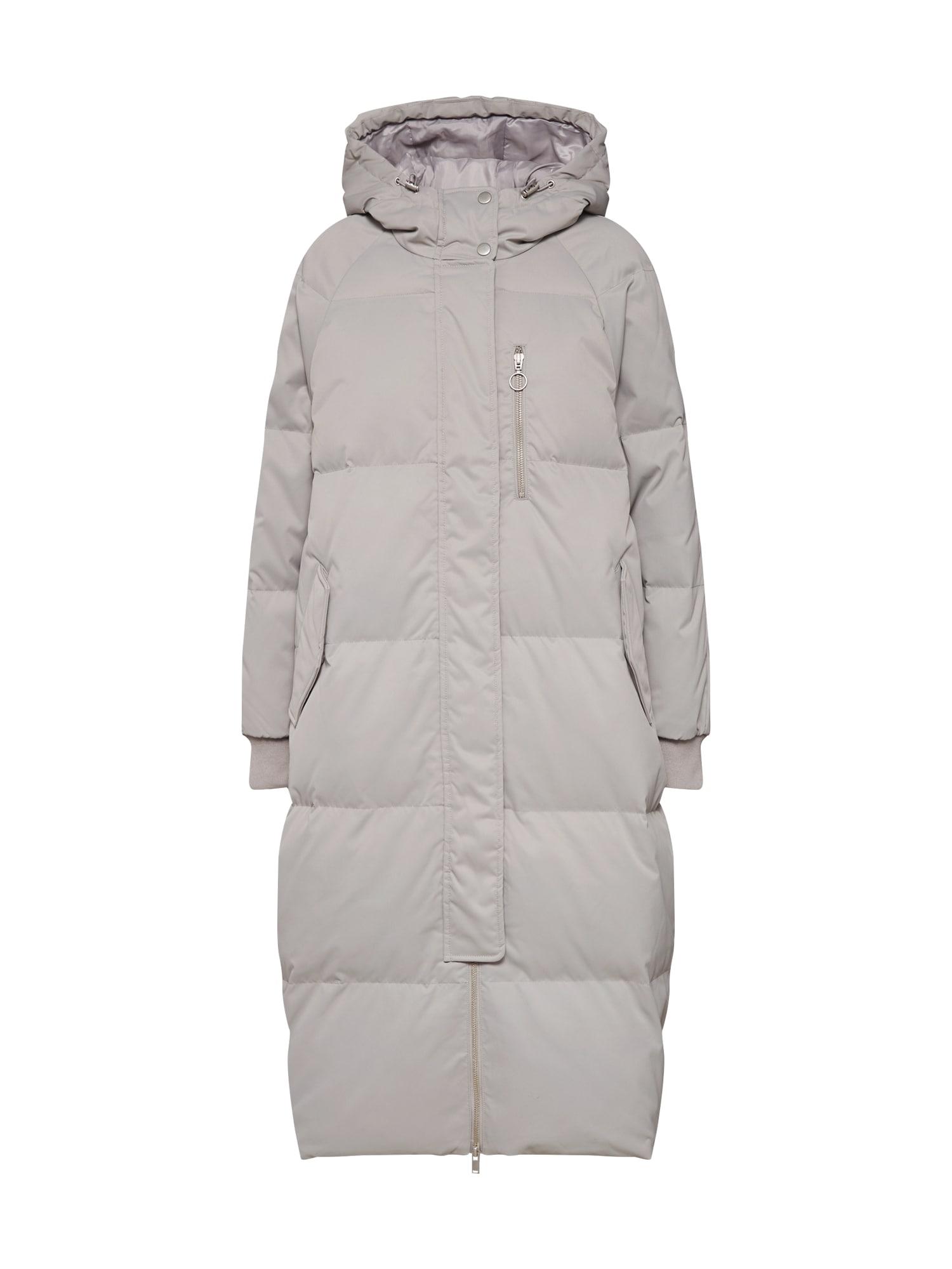 GAP Žieminis paltas sidabras / pilka