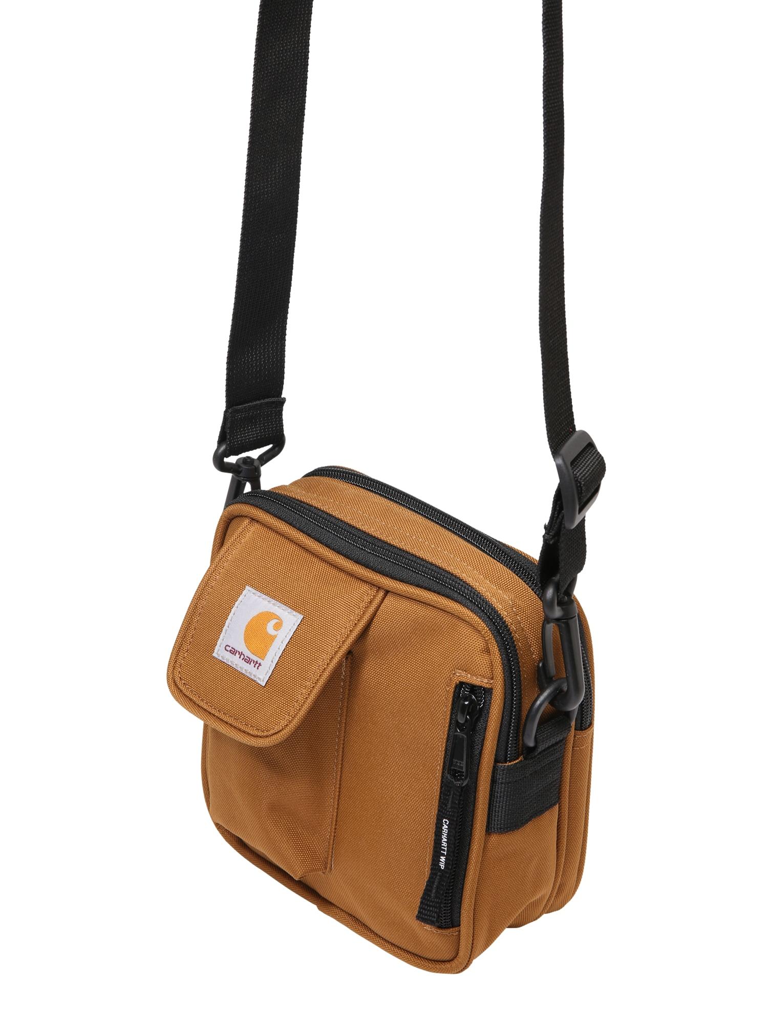 Carhartt WIP Rankinė su ilgu dirželiu 'Essentials Bag, Small' ruda
