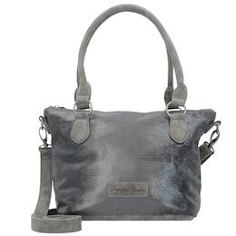 Fritzi Aus Preußen Damen Jimena Panama Handtasche 26 cm grau | 04059065045170