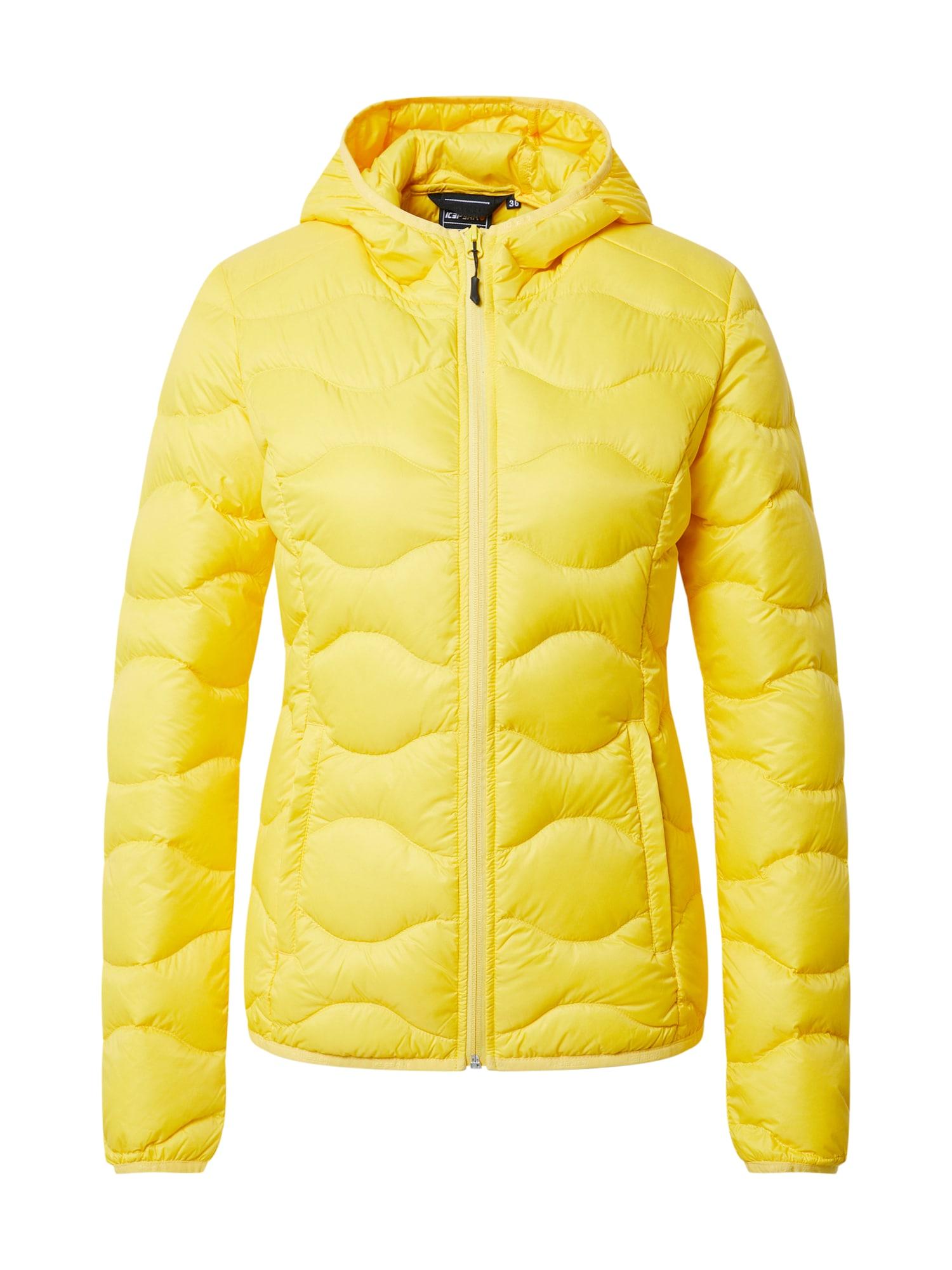 ICEPEAK Sportovní bunda 'AYNOR'  žlutá