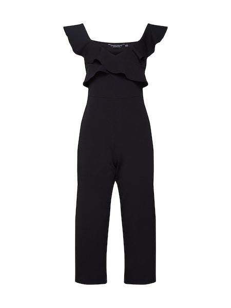Hosen - Jumpsuit 'BARDOT RUFFLE CULOTTE' › Dorothy Perkins › schwarz  - Onlineshop ABOUT YOU