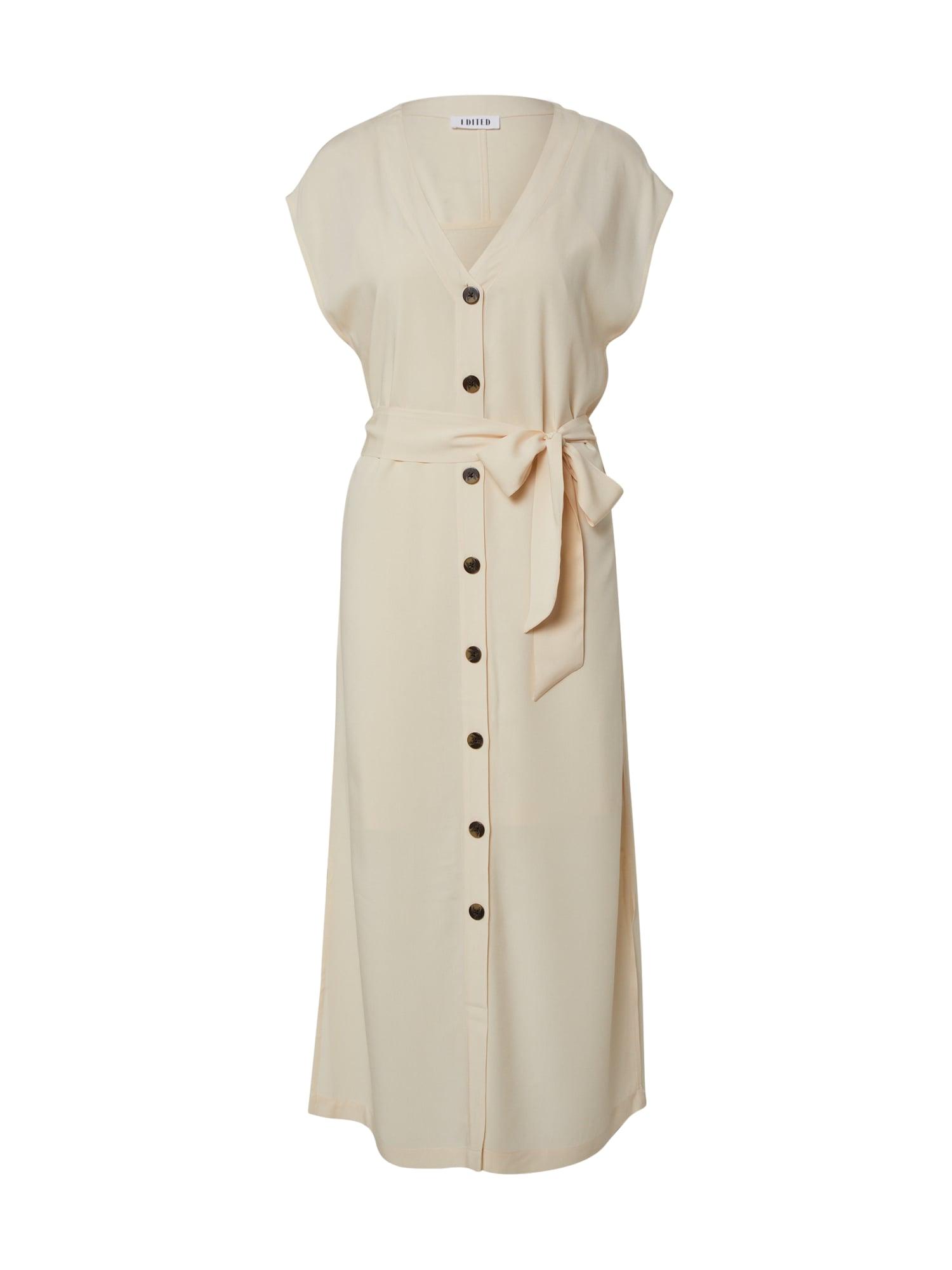 EDITED Vasarinė suknelė 'Madia' balta / balkšva