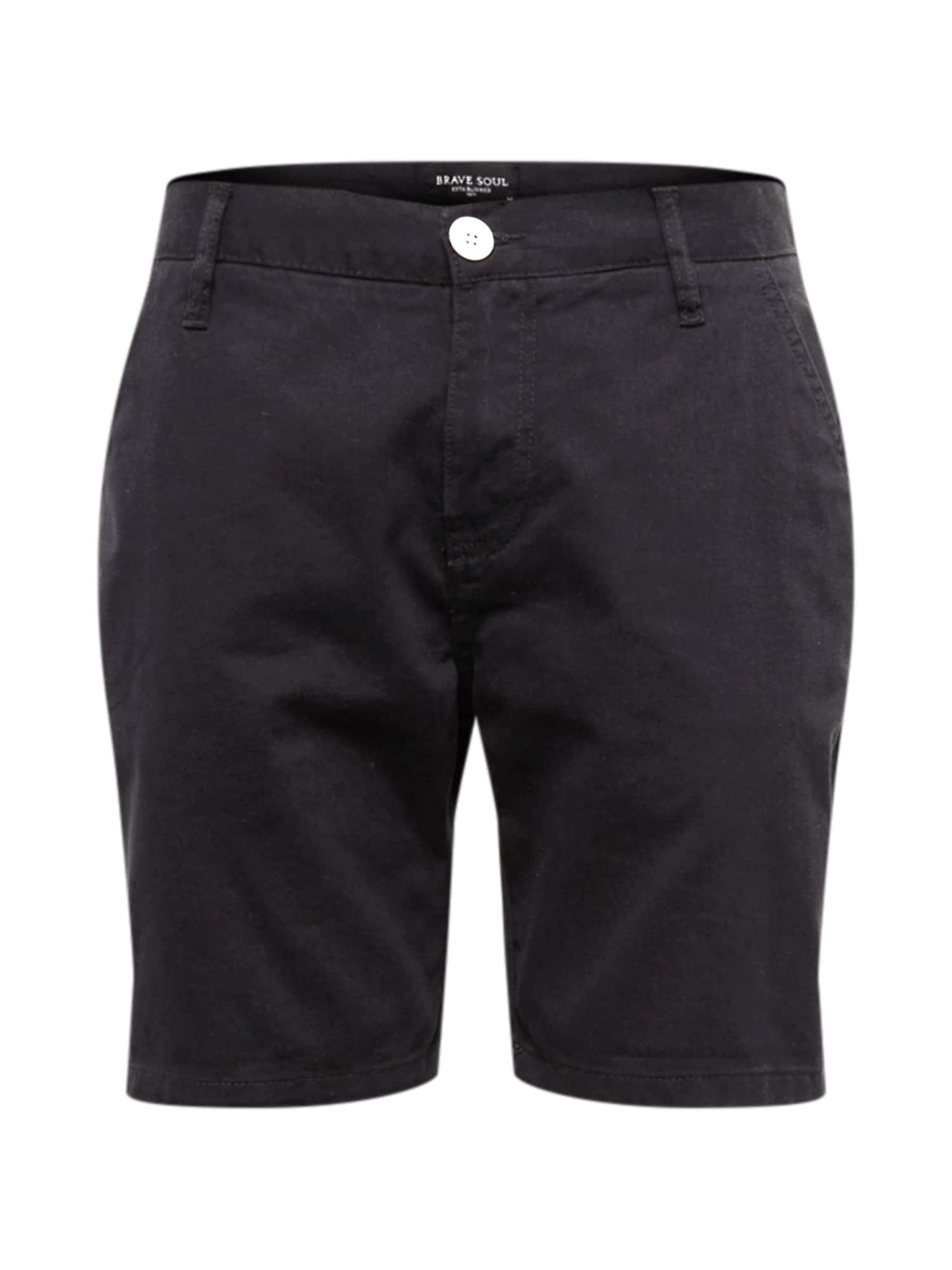 Kalhoty kobaltová modř BRAVE SOUL