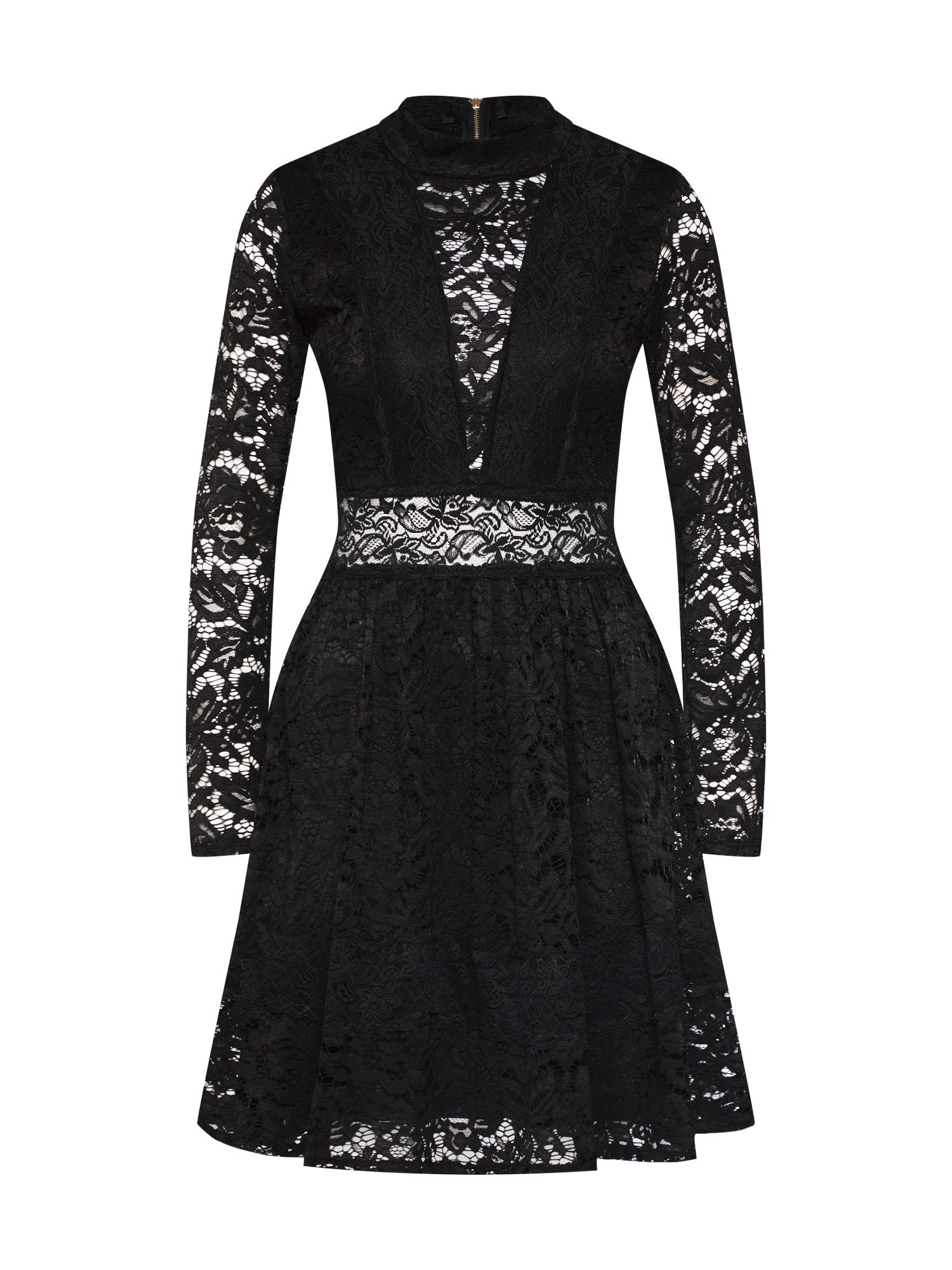 Koktejlové šaty CH 2271 černá WAL G.