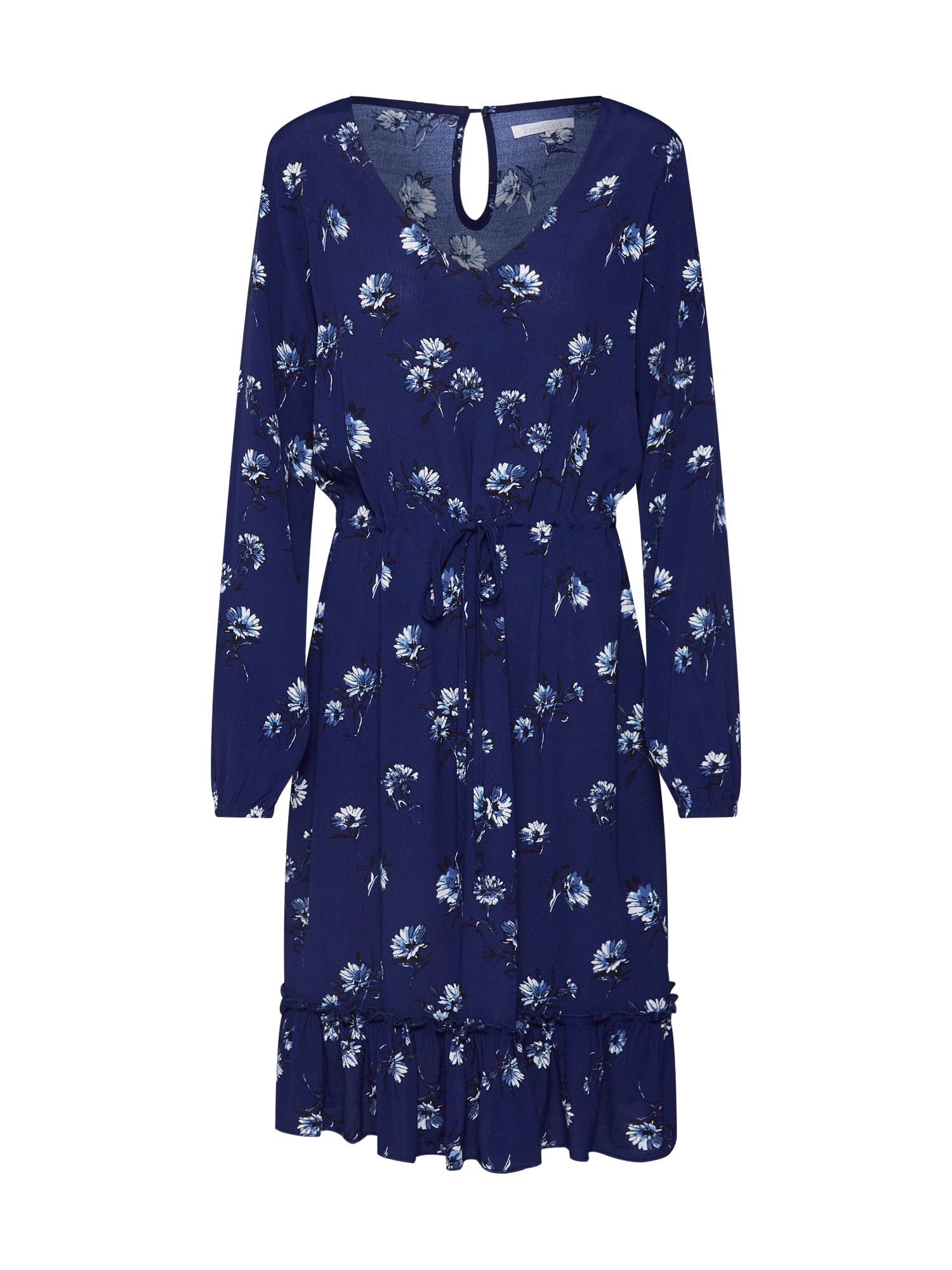 Šaty námořnická modř mix barev Freebird