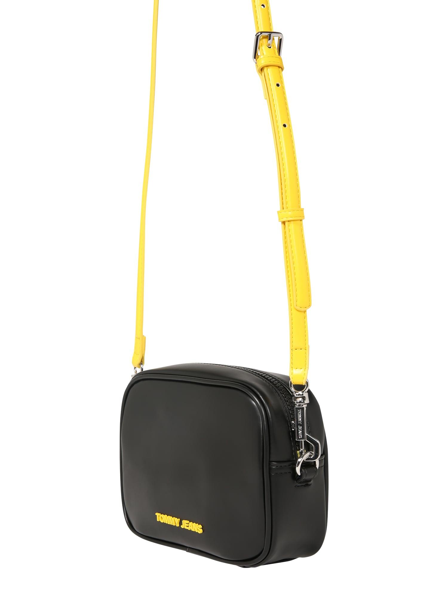 Tommy Jeans Torba na ramię  czarny / żółty