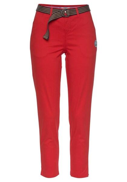 Hosen für Frauen - Hose › Tom Tailor Polo Team › rot  - Onlineshop ABOUT YOU