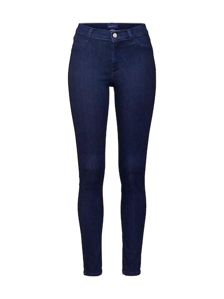 Hosen - Jeans 'D1. SKINNY TRAVEL INDIGO JEANS' › Gant › blue denim  - Onlineshop ABOUT YOU