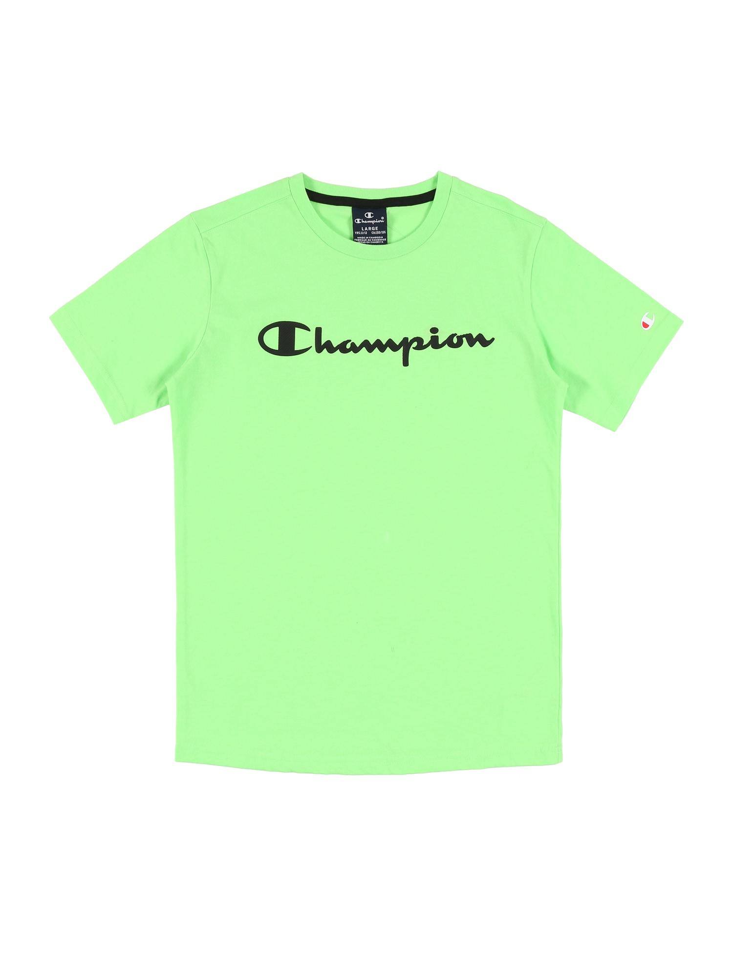 Champion Authentic Athletic Apparel Marškinėliai žalia