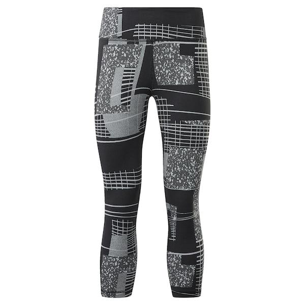 Hosen - Leggings › Reebok › schwarz grau  - Onlineshop ABOUT YOU