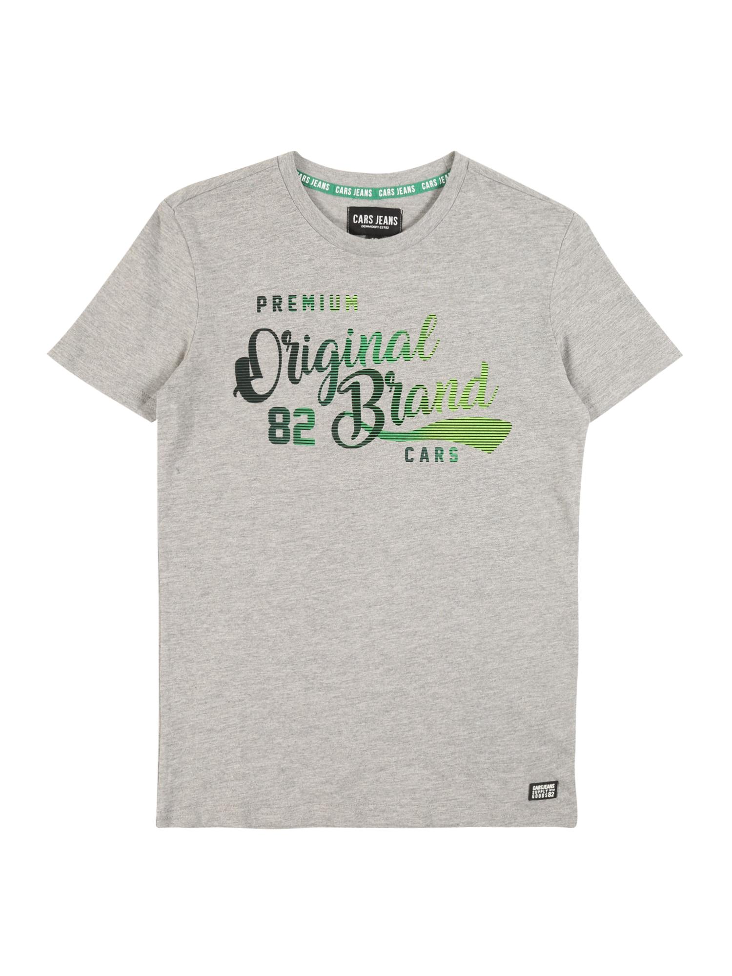 Cars Jeans Marškinėliai 'KIDS CRAYON TS' margai pilka