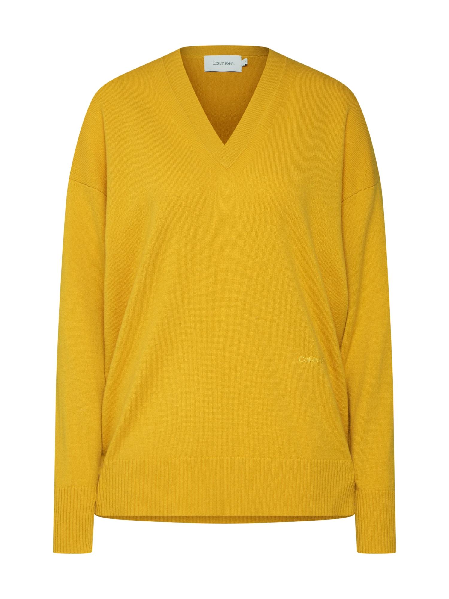 Calvin Klein Megztinis garstyčių spalva