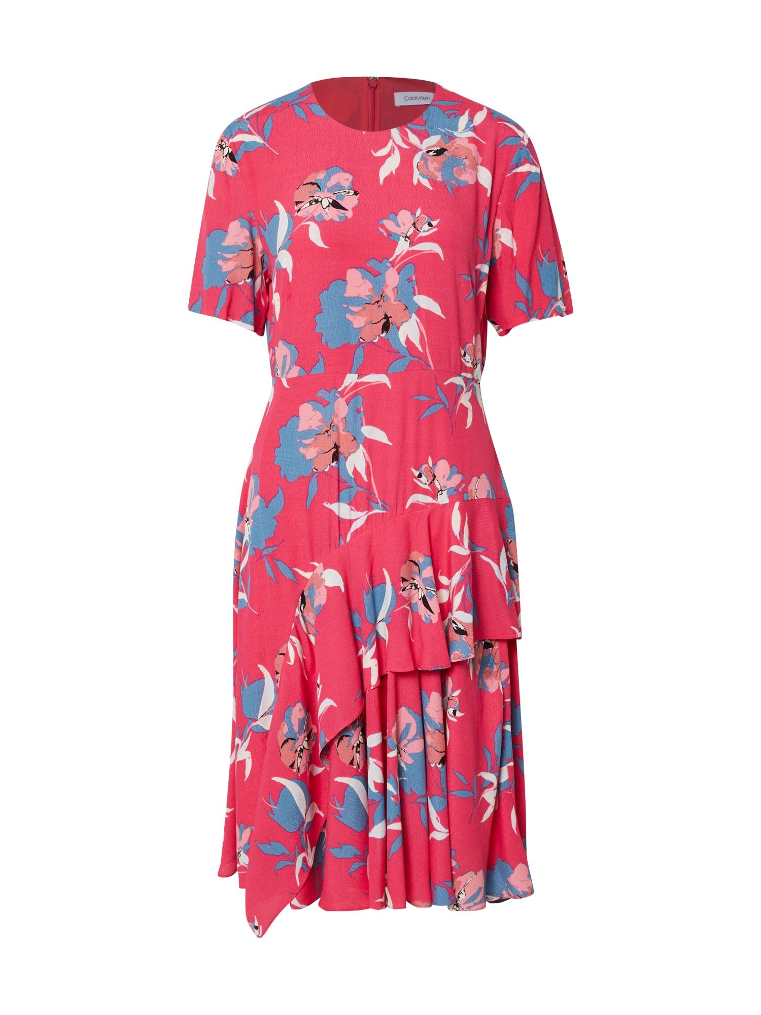 Calvin Klein Vasarinė suknelė rožinė