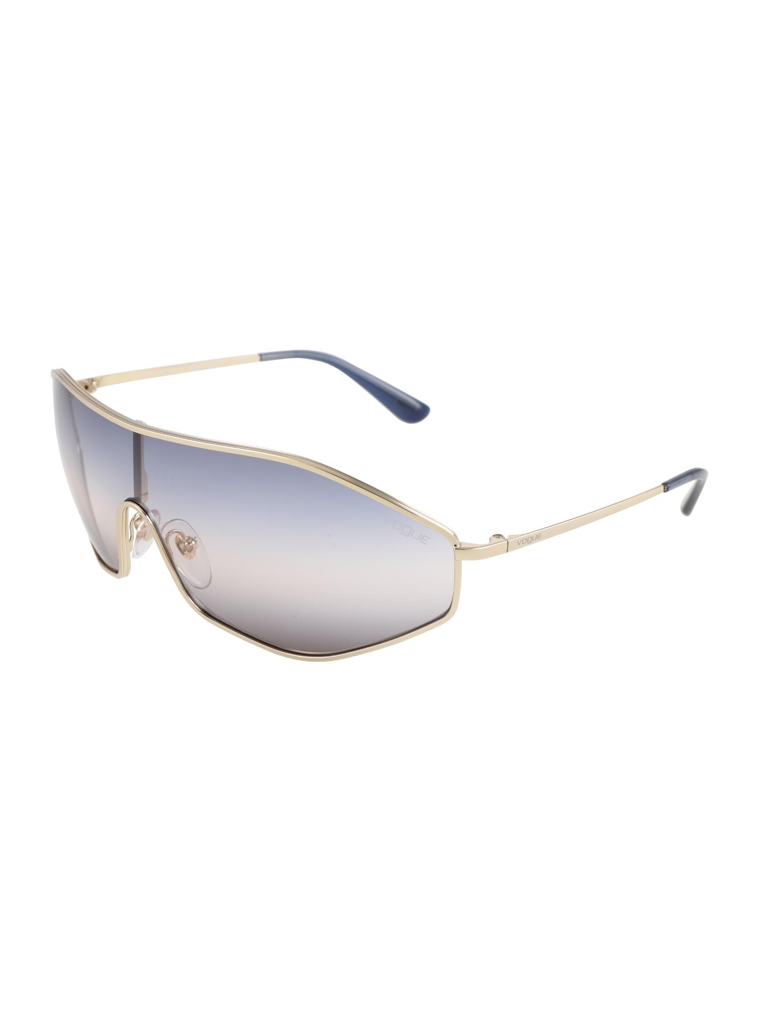 Sluneční brýle G-VISION zlatá VOGUE Eyewear