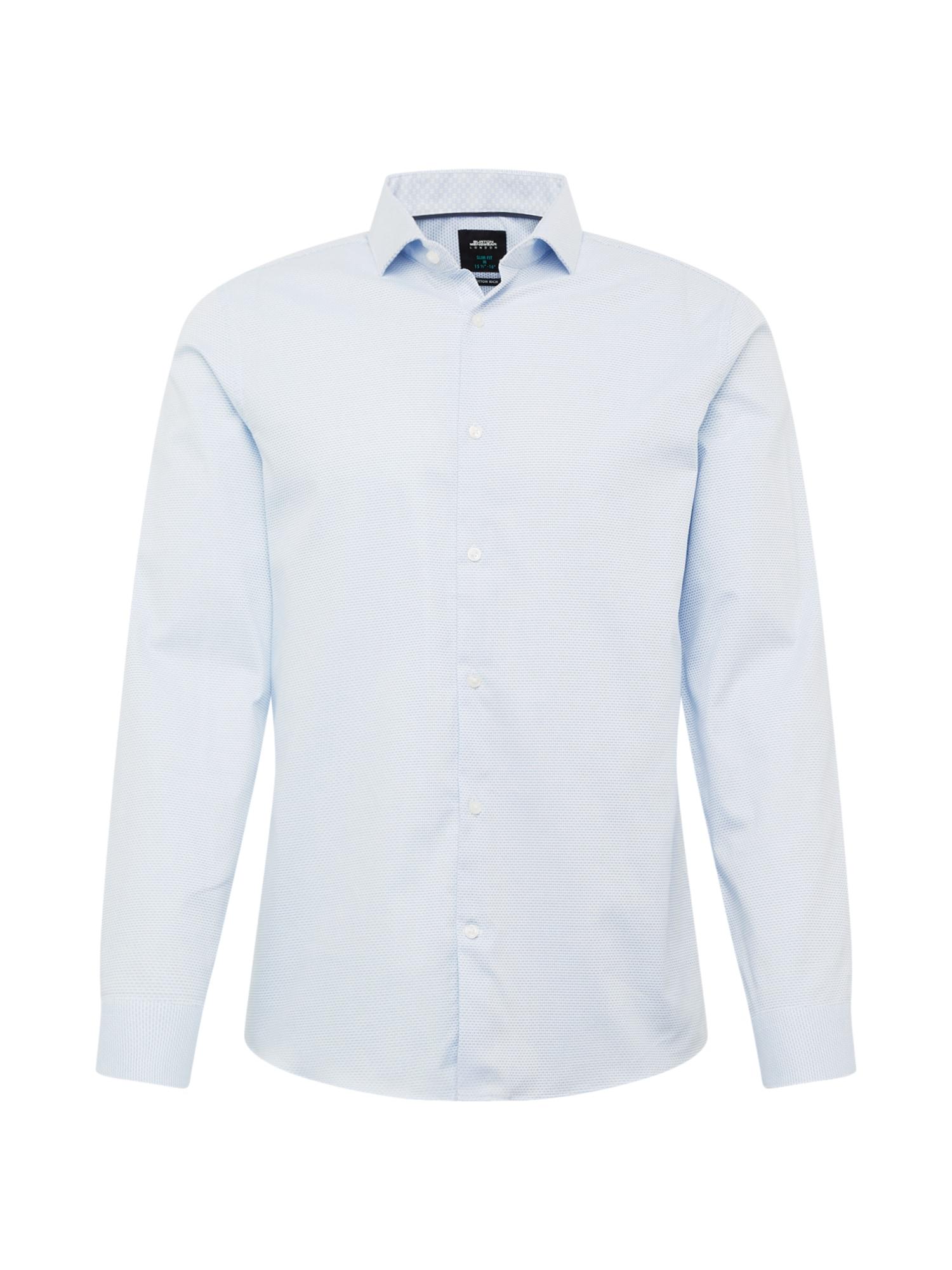 BURTON MENSWEAR LONDON Dalykinio stiliaus marškiniai mėlyna