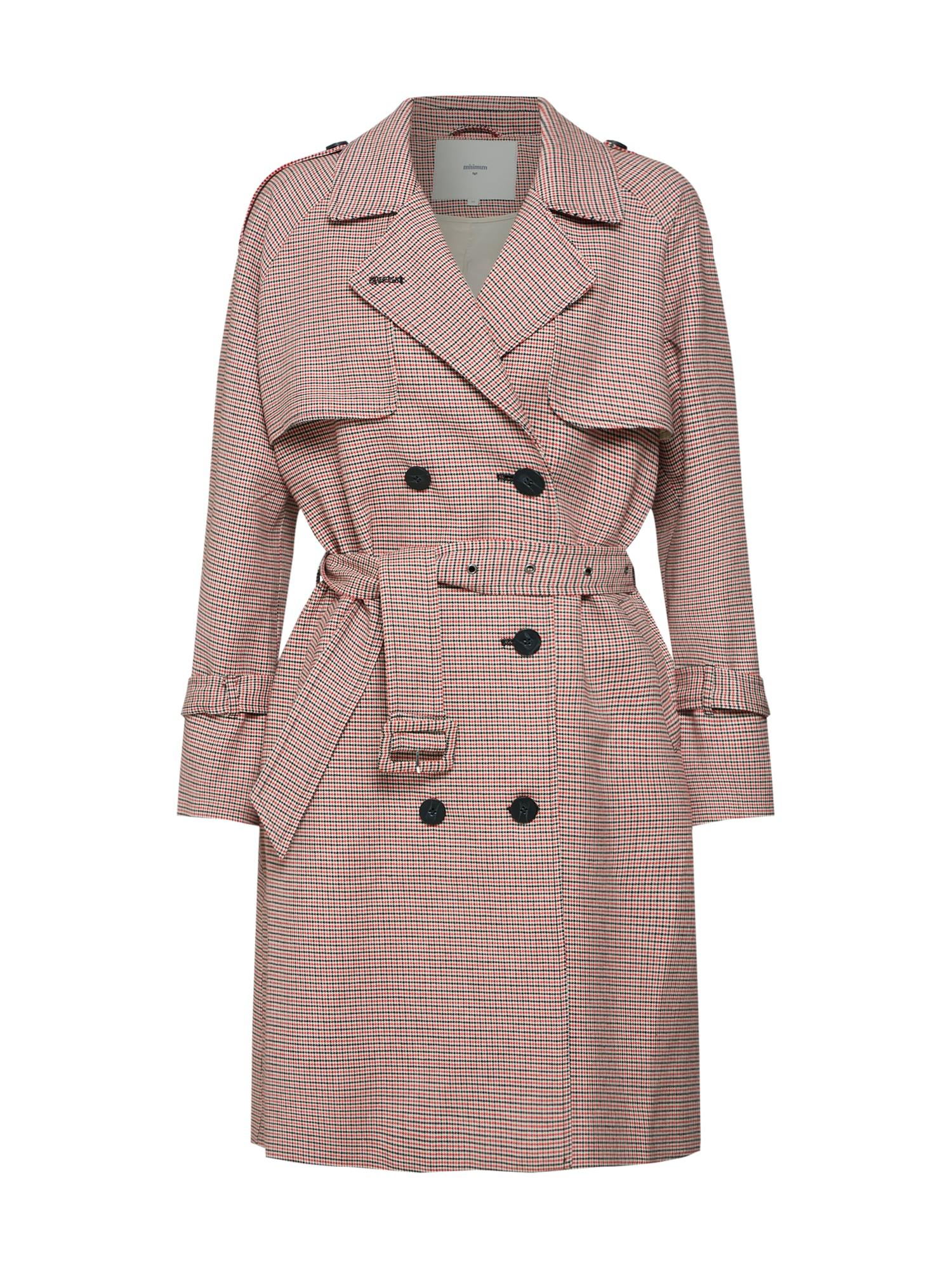Přechodný kabát Jirina červená Minimum