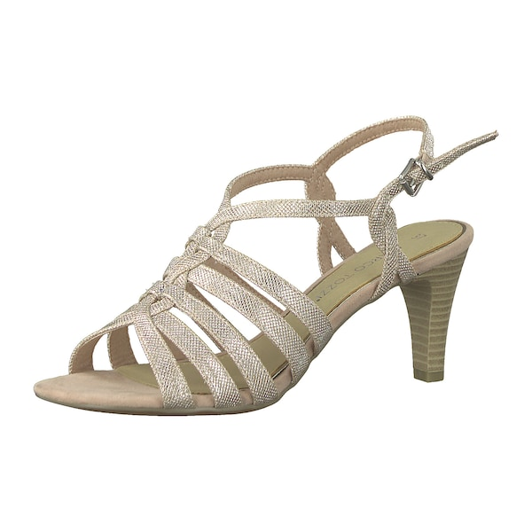 Sandalen für Frauen - MARCO TOZZI Riemchensandaletten nude pink  - Onlineshop ABOUT YOU