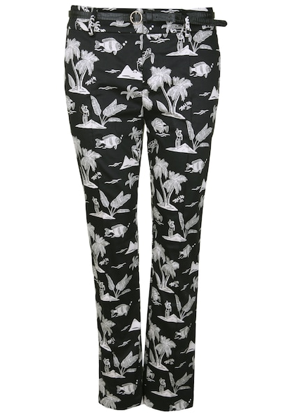 Hosen - Chinohose mit Allover Print › Scotch Soda › mehrfarbig  - Onlineshop ABOUT YOU