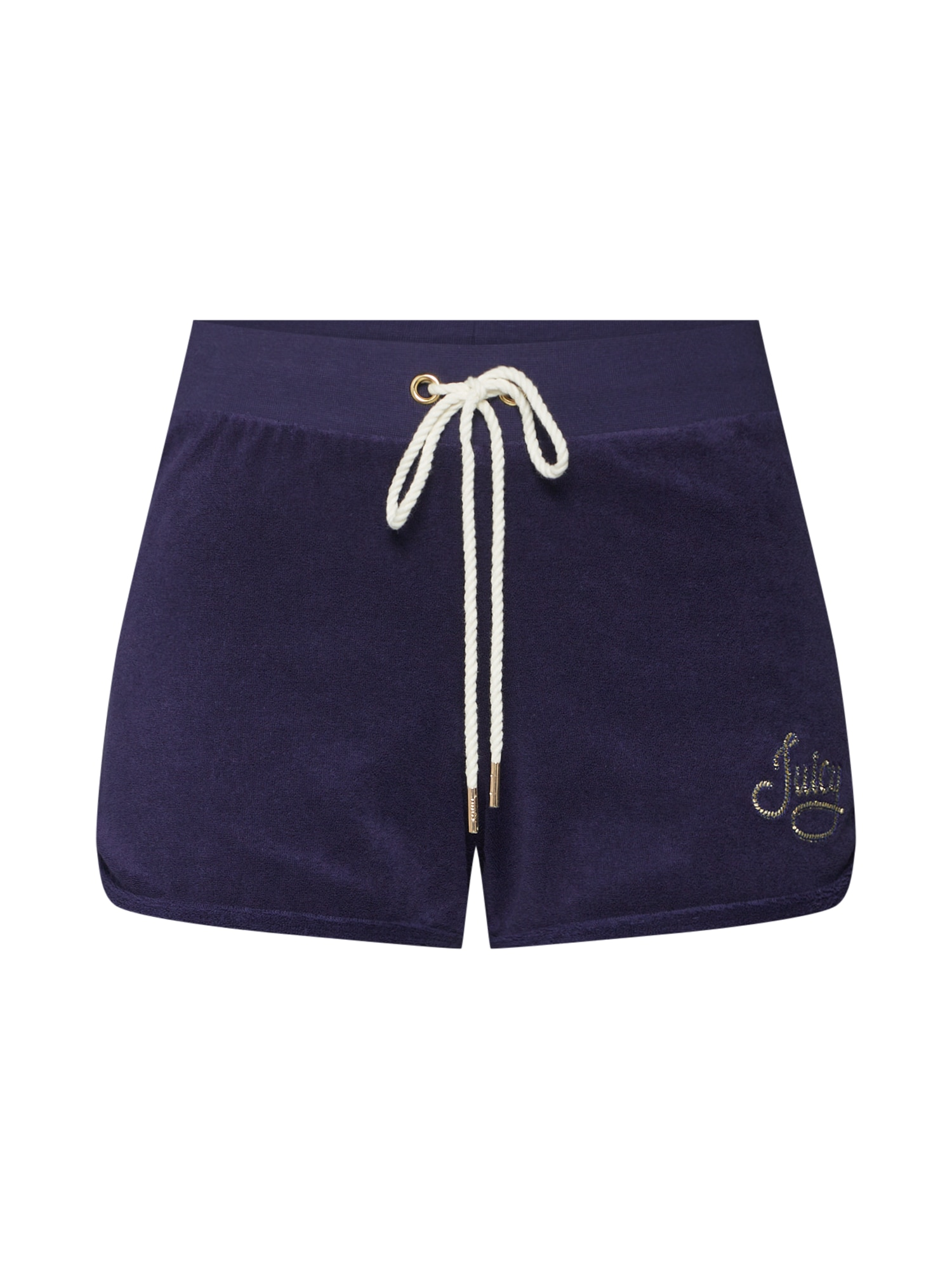 Kalhoty ROPE MICRO TERRY SHORT modrá Juicy Couture Black Label