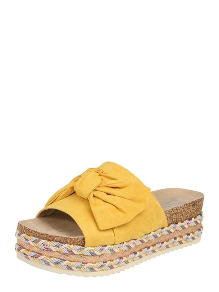 Sandalen für Frauen - BULLBOXER Sandale senf  - Onlineshop ABOUT YOU