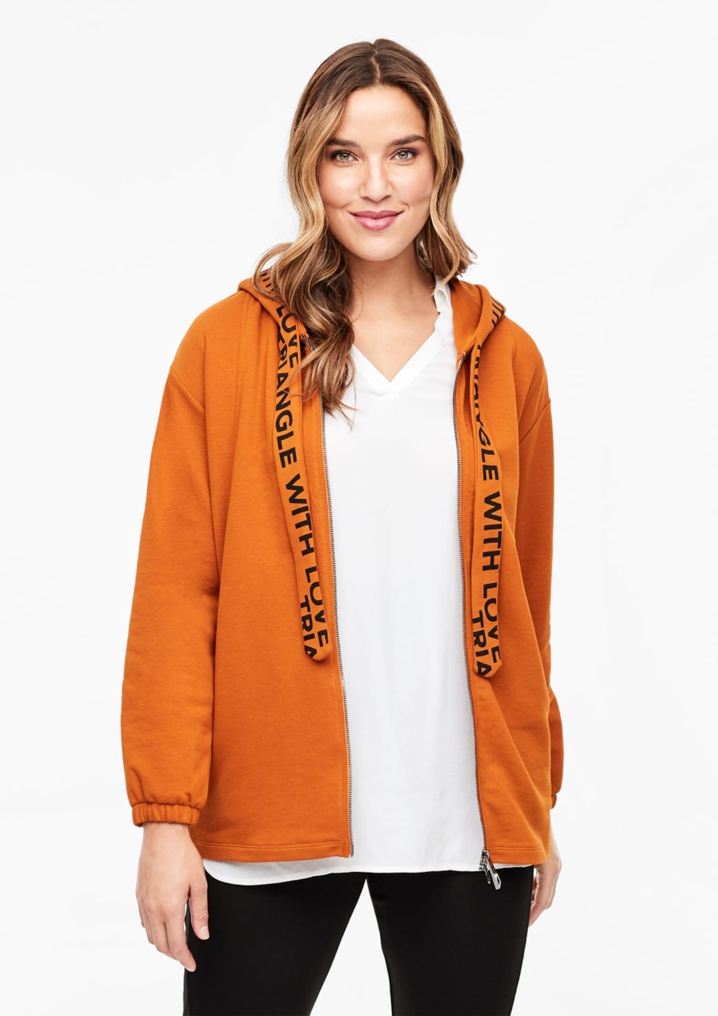 TRIANGLE Džemperis oranžinė