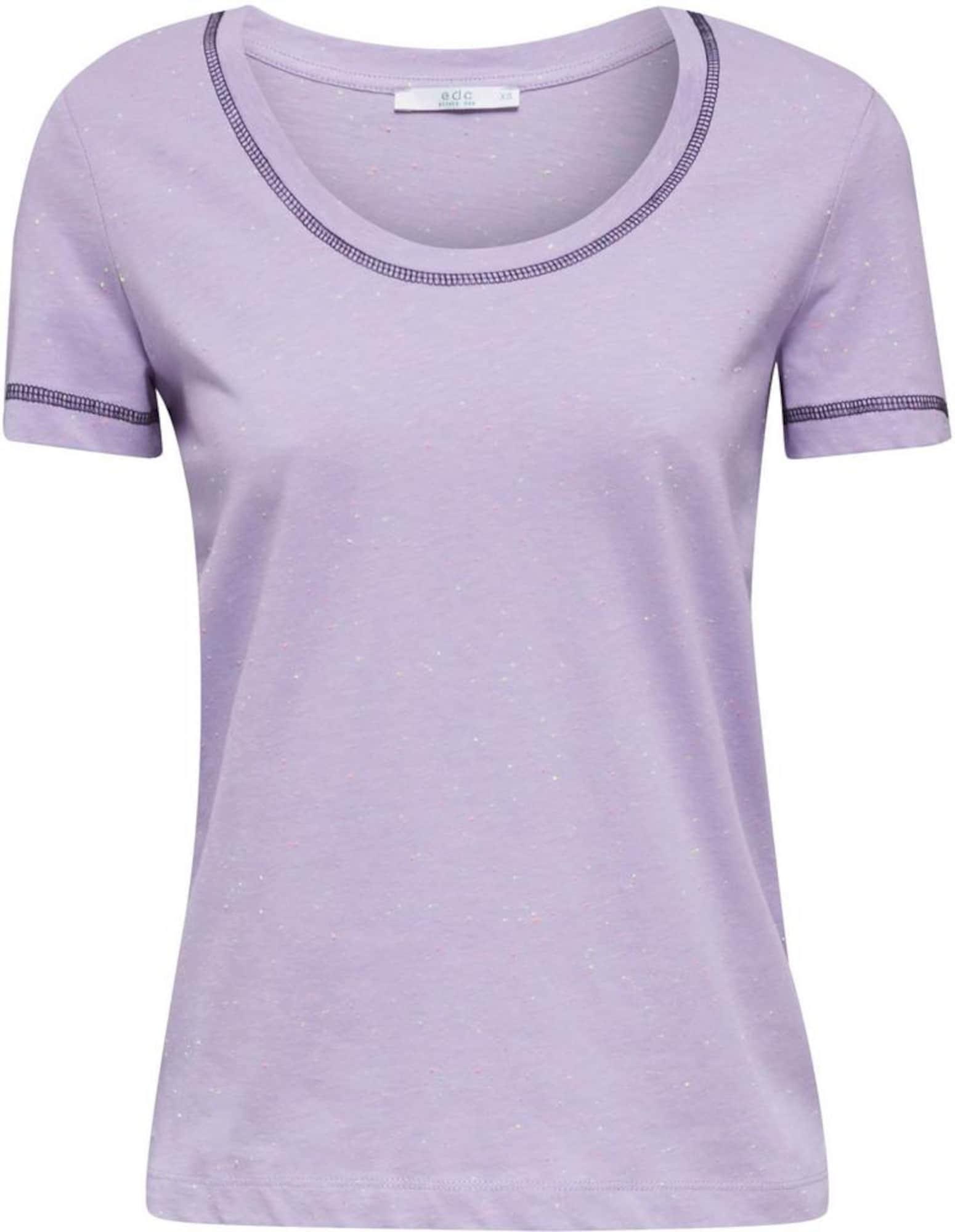 EDC BY ESPRIT Tričko  svetlofialová / fialová / zmiešané farby