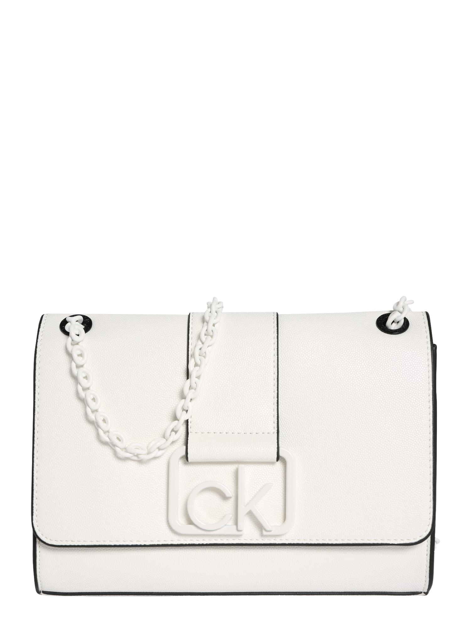 Calvin Klein Rankinė ant peties balta
