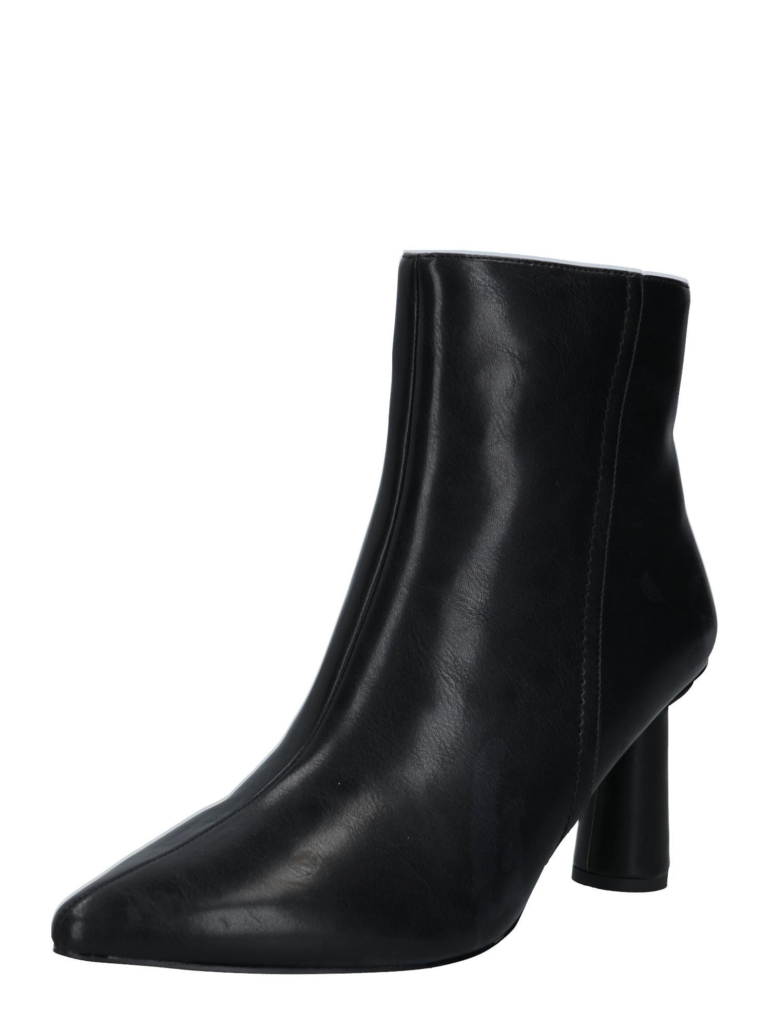 NA-KD Kotníkové boty  černá