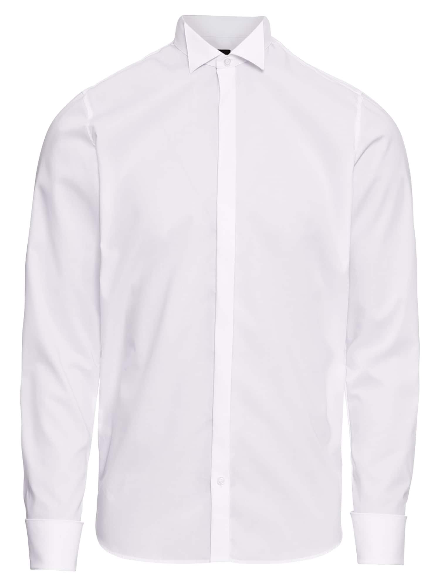 OLYMP Dalykinio stiliaus marškiniai balta