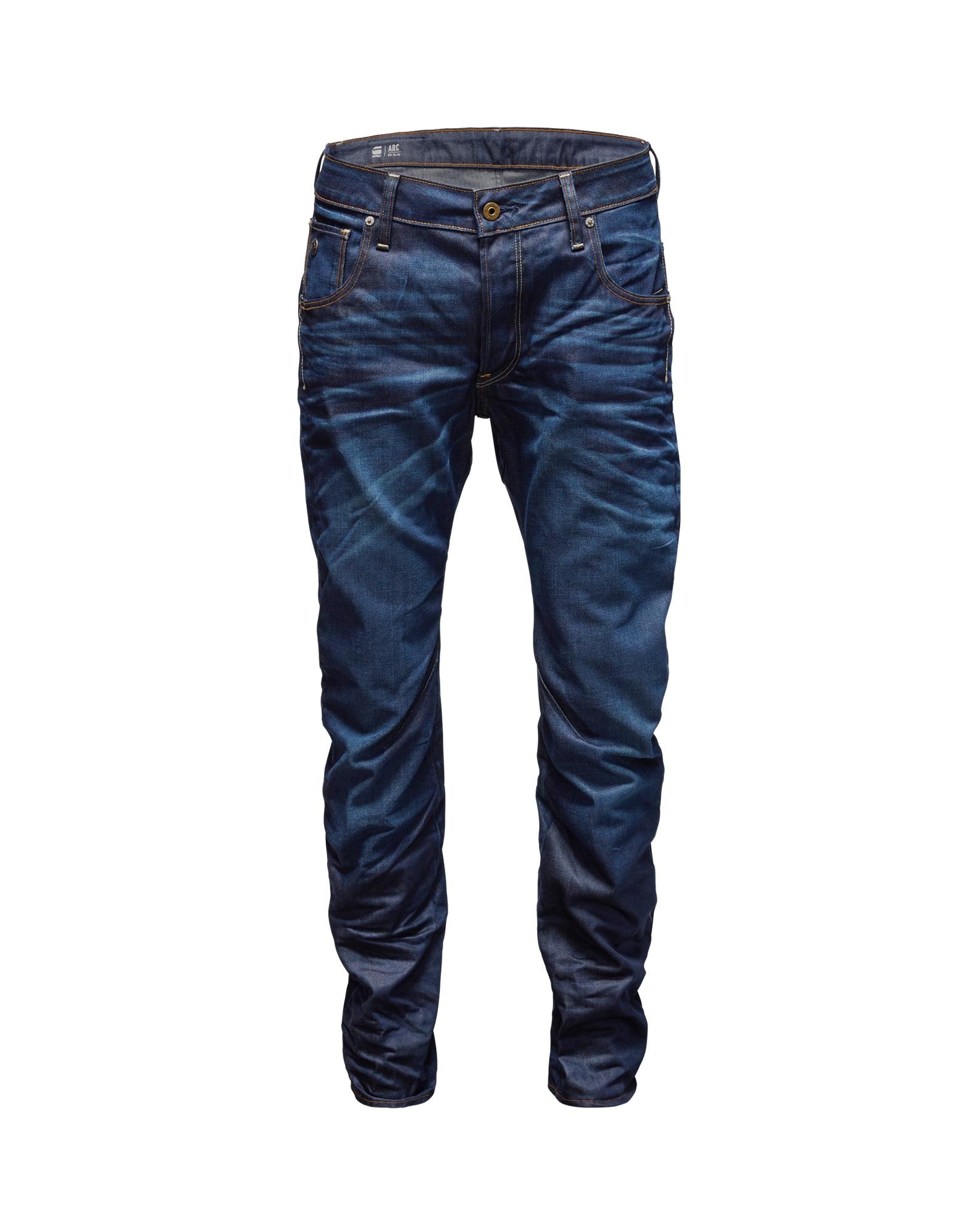 G-Star RAW Džinsai 'Arc 3D' mėlyna / tamsiai mėlyna