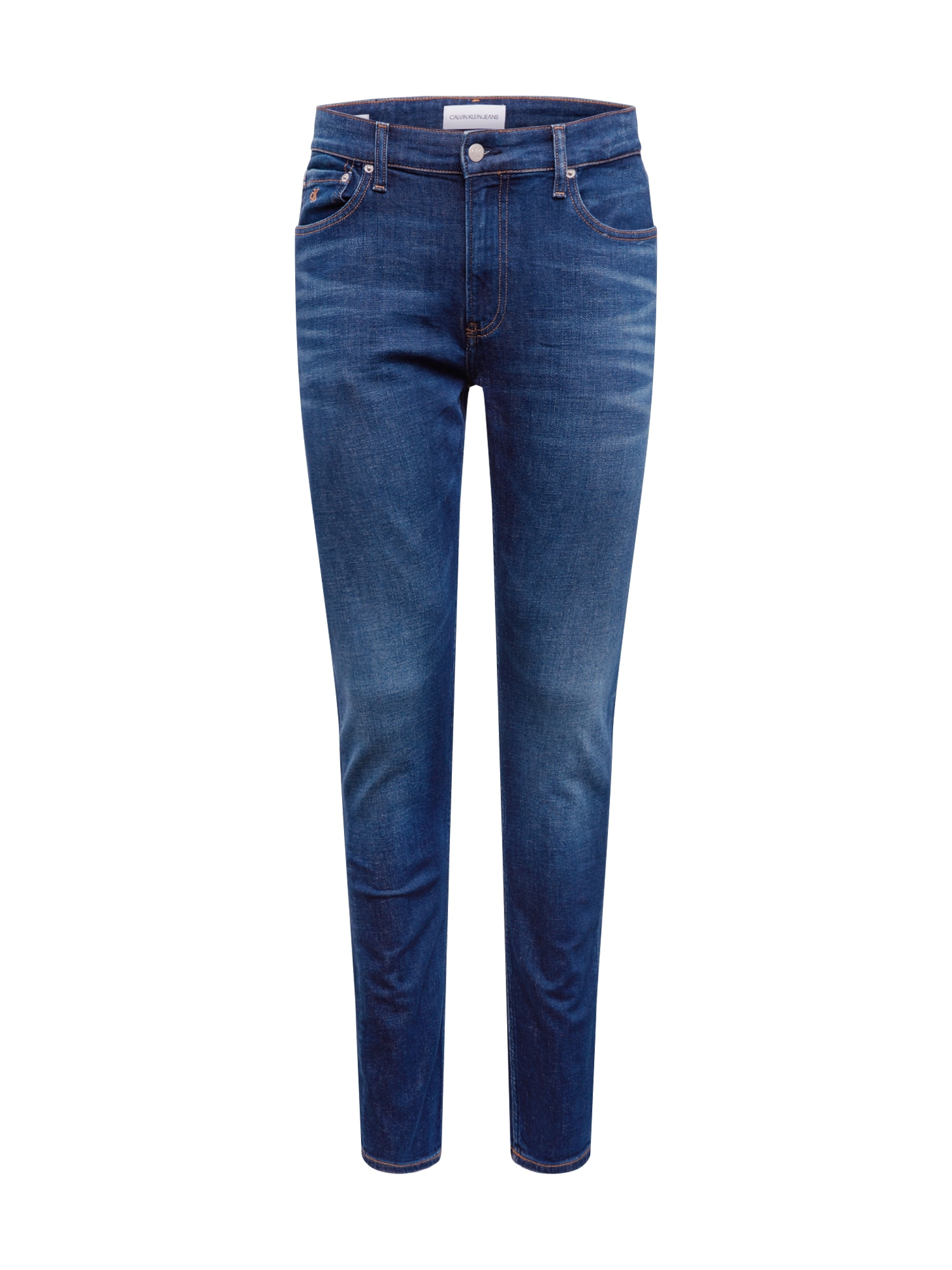 Calvin Klein Jeans Džinsai '026 SLIM' tamsiai (džinso) mėlyna
