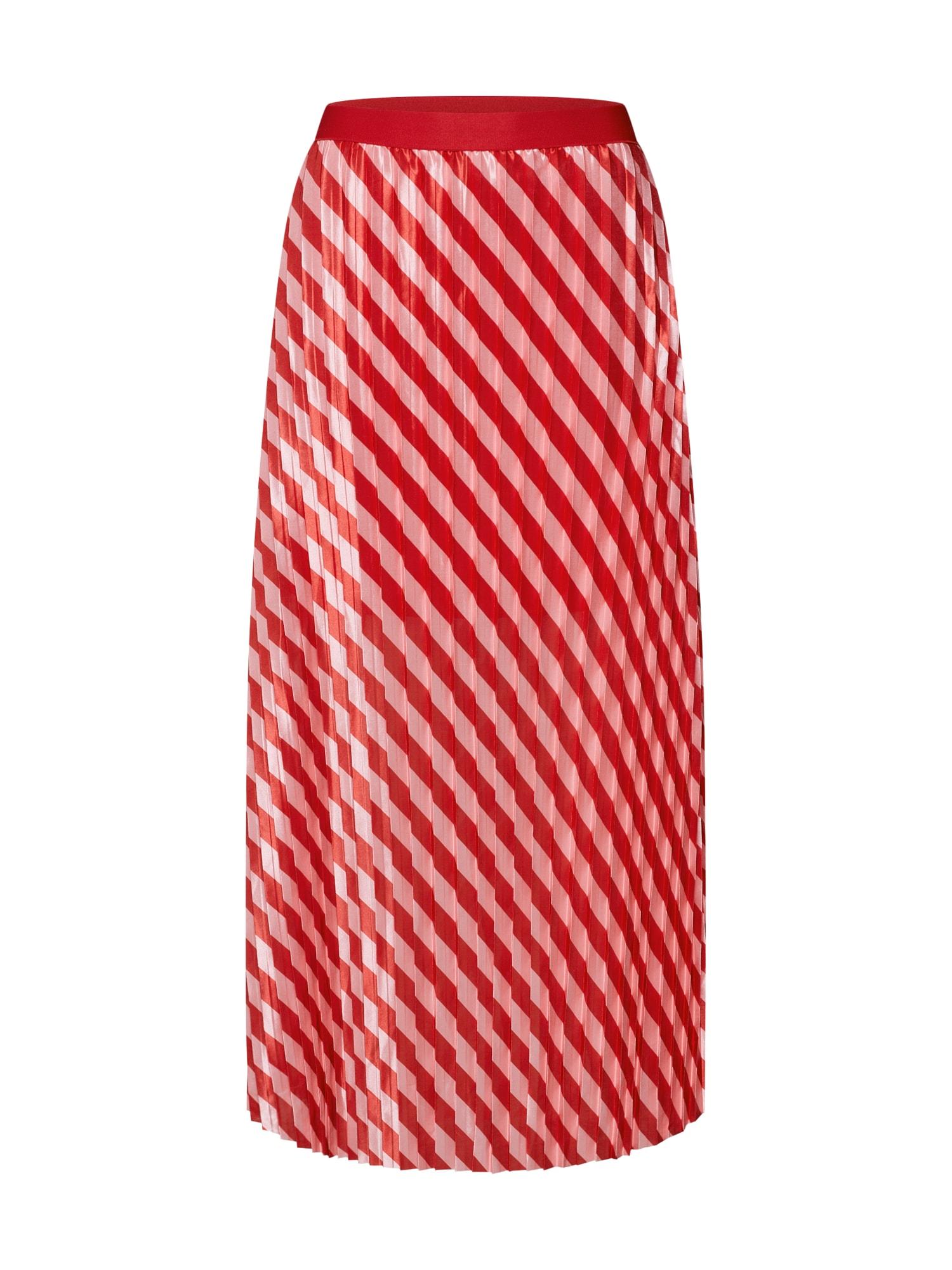 Sukně Jasmine Skirt červená bílá SOAKED IN LUXURY