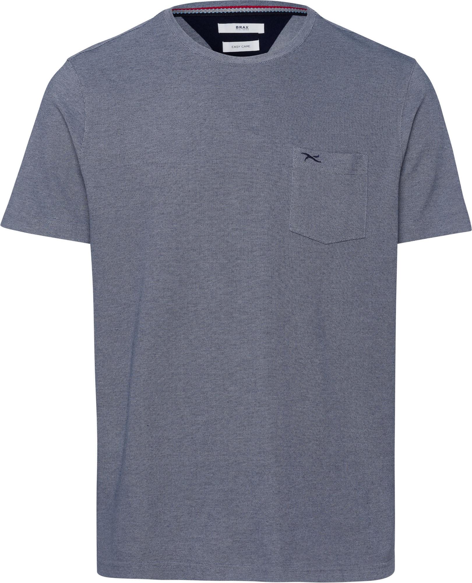 BRAX Marškinėliai 'Todd' rausvai pilka