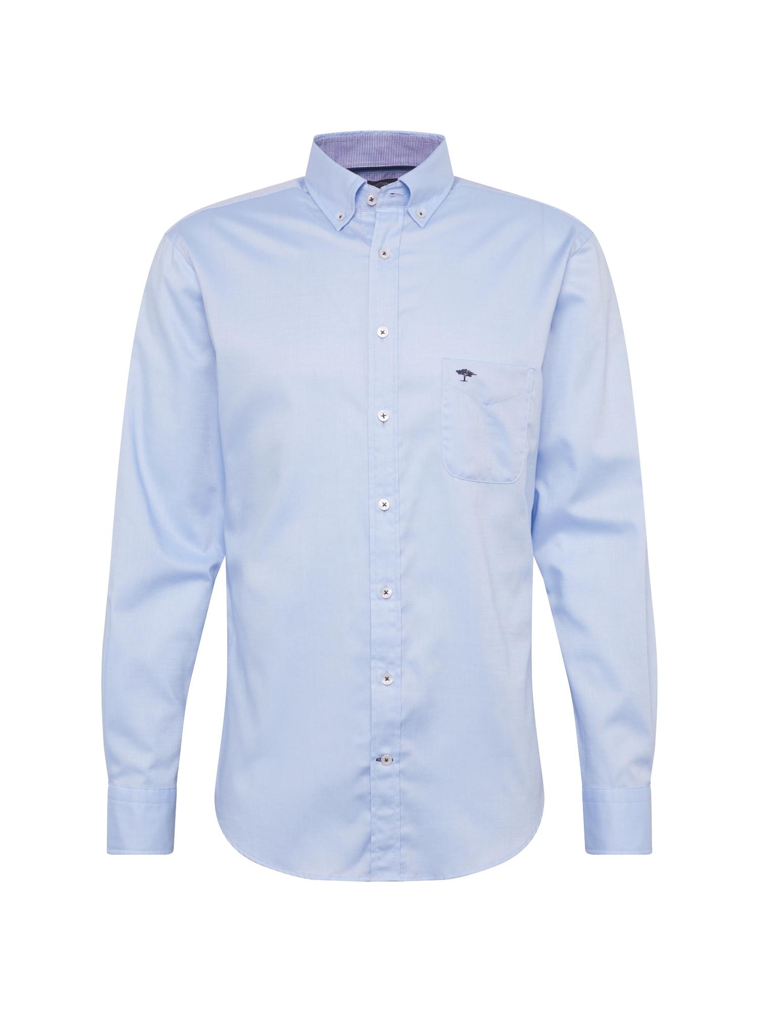 Košile sleeve casual fit světlemodrá FYNCH-HATTON