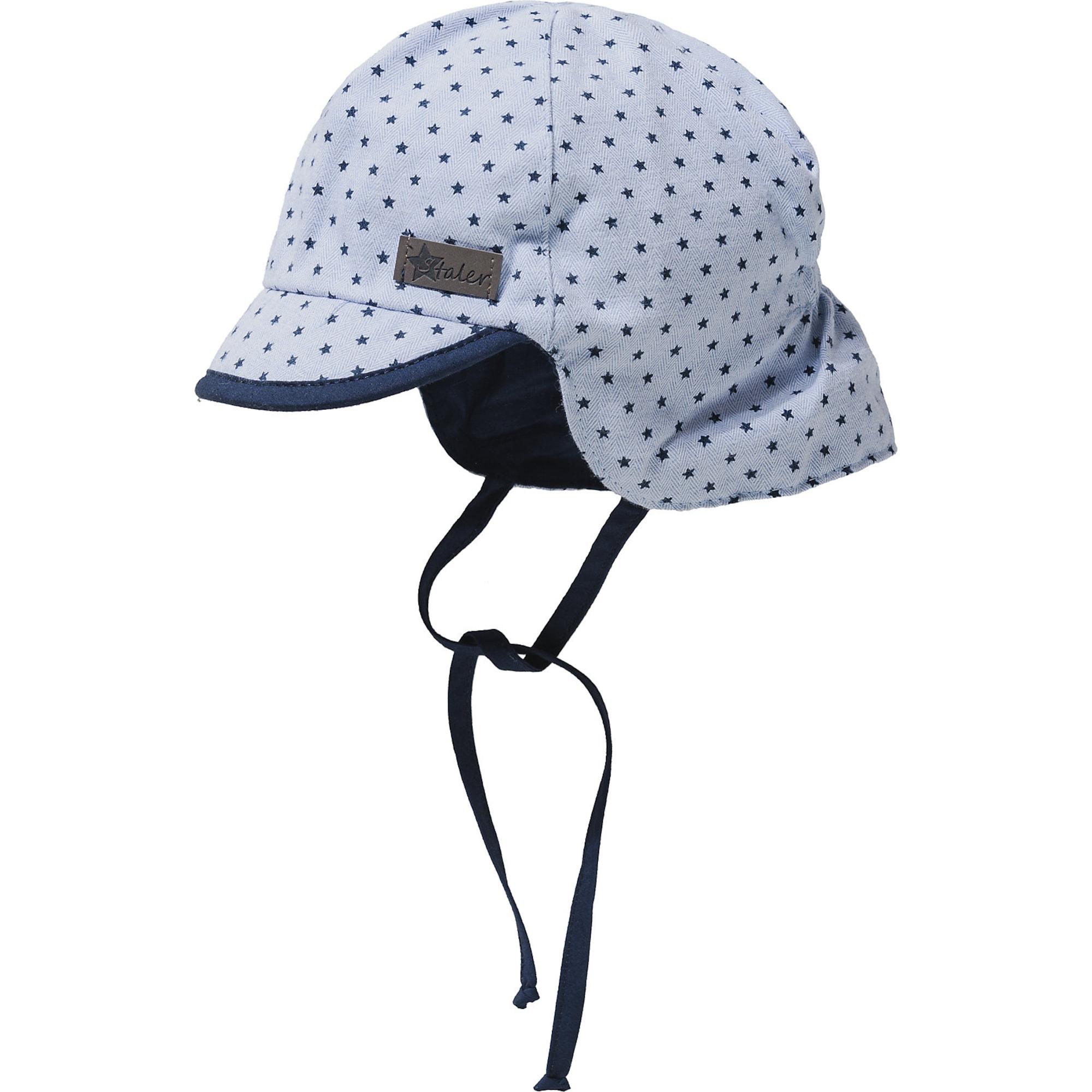 STERNTALER Megzta kepurė opalo / tamsiai mėlyna