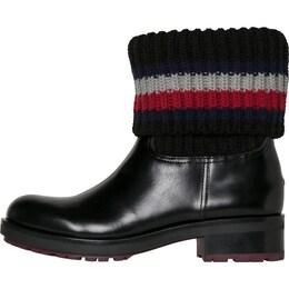 TOMMY HILFIGER Damen Boot J1285ILL 4C schwarz | 08719256050906