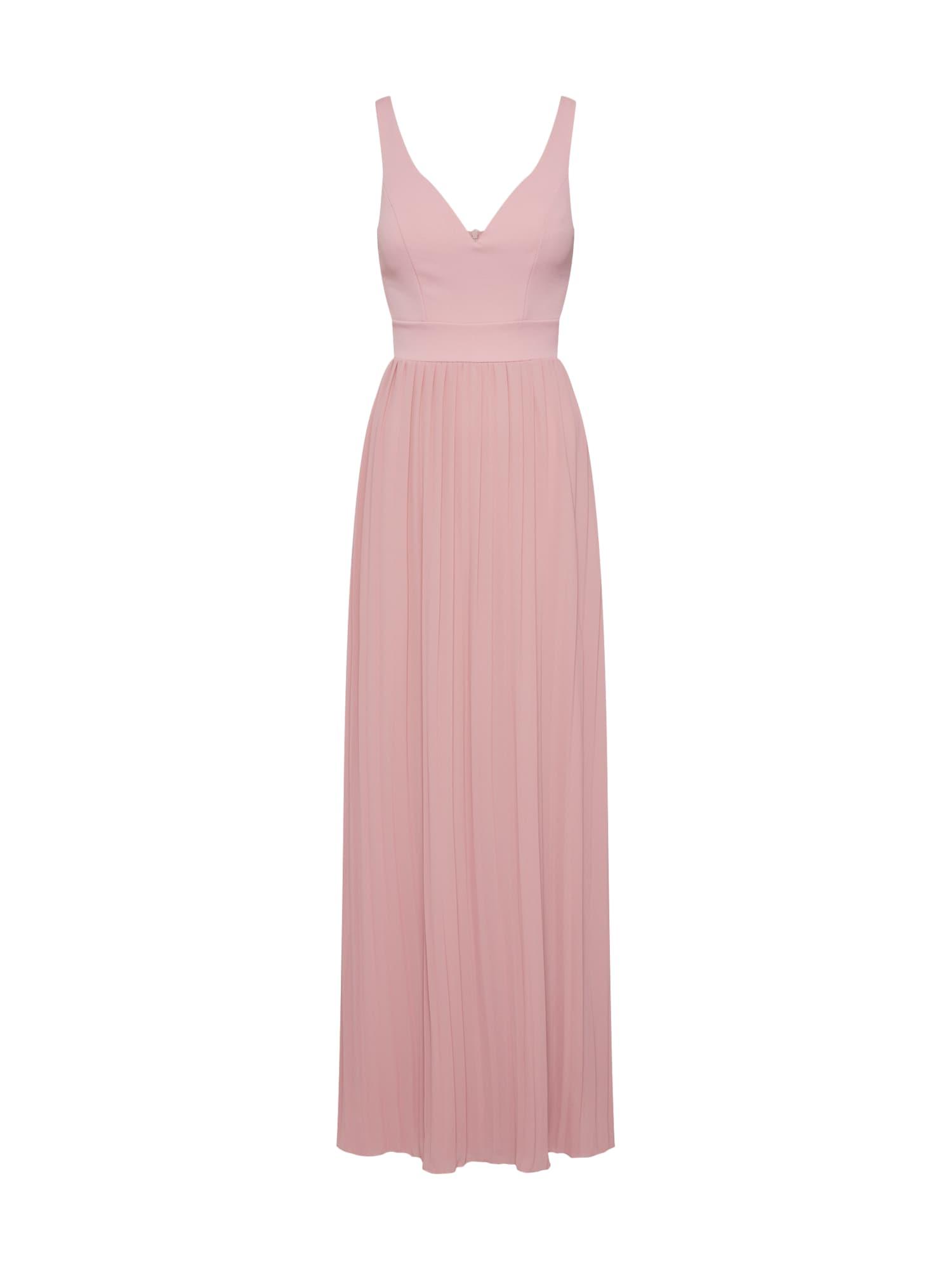 WAL G. Vakarinė suknelė rožių spalva