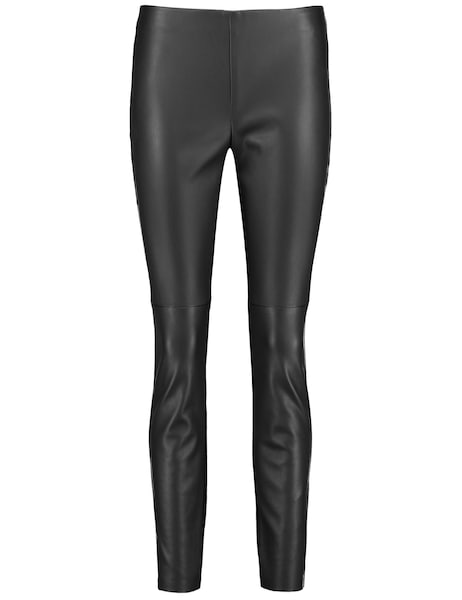 Hosen für Frauen - Hose in Lederoptik › TAIFUN › schwarz  - Onlineshop ABOUT YOU
