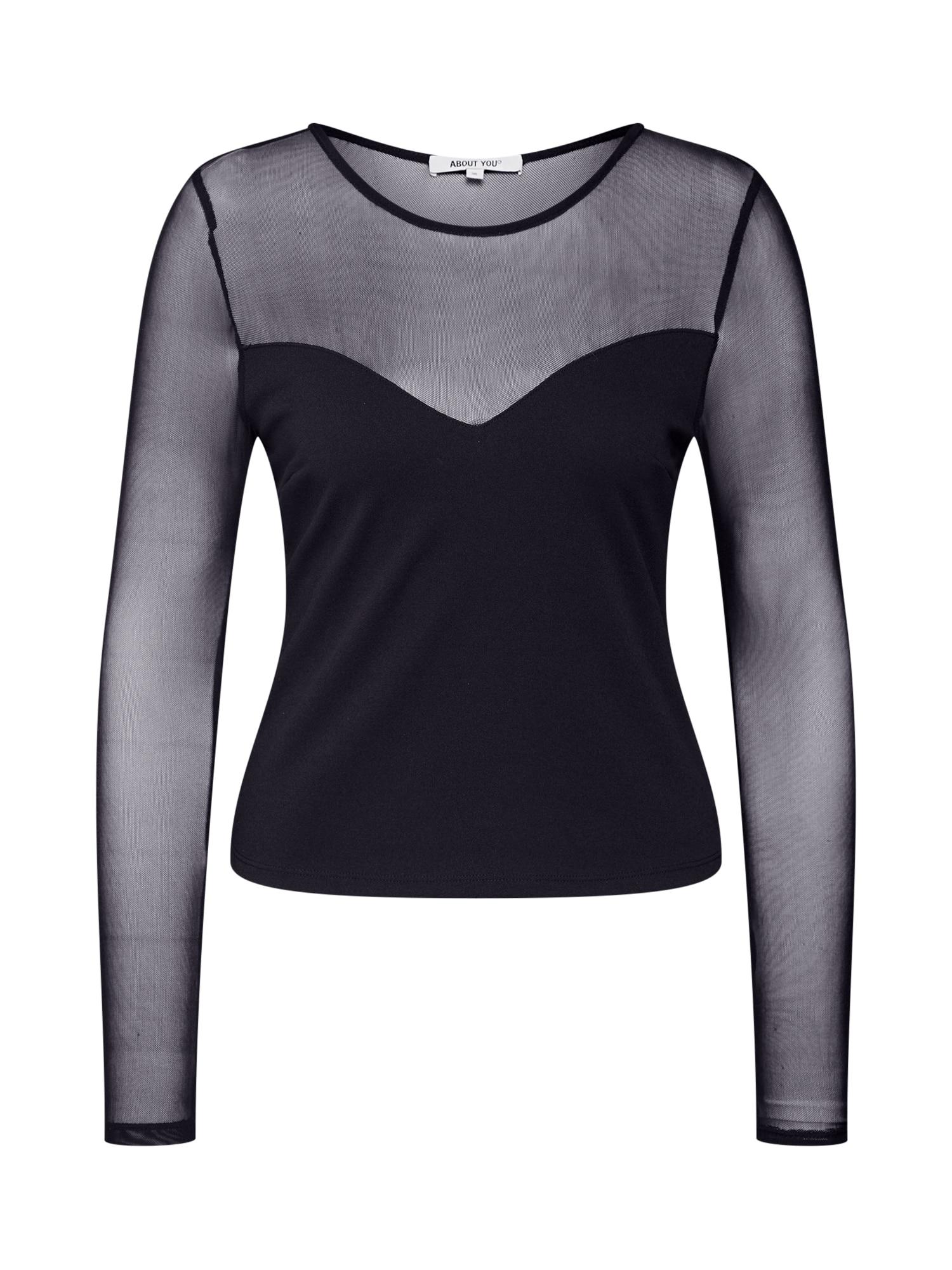 ABOUT YOU Marškinėliai 'Evelyn' juoda