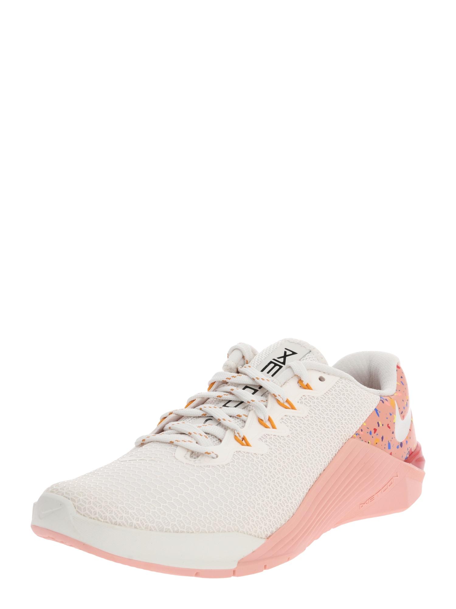 NIKE Športová obuv 'Metcon 5 AMP'  ružová / biela