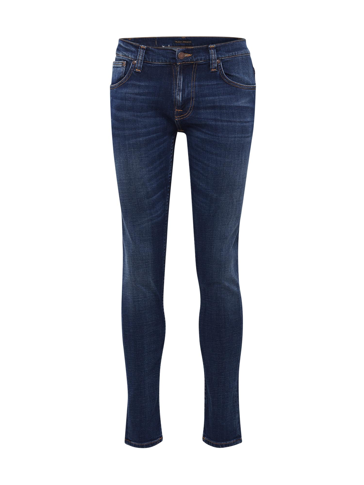 Nudie Jeans Co Džinsai 'Tight Terry' tamsiai (džinso) mėlyna