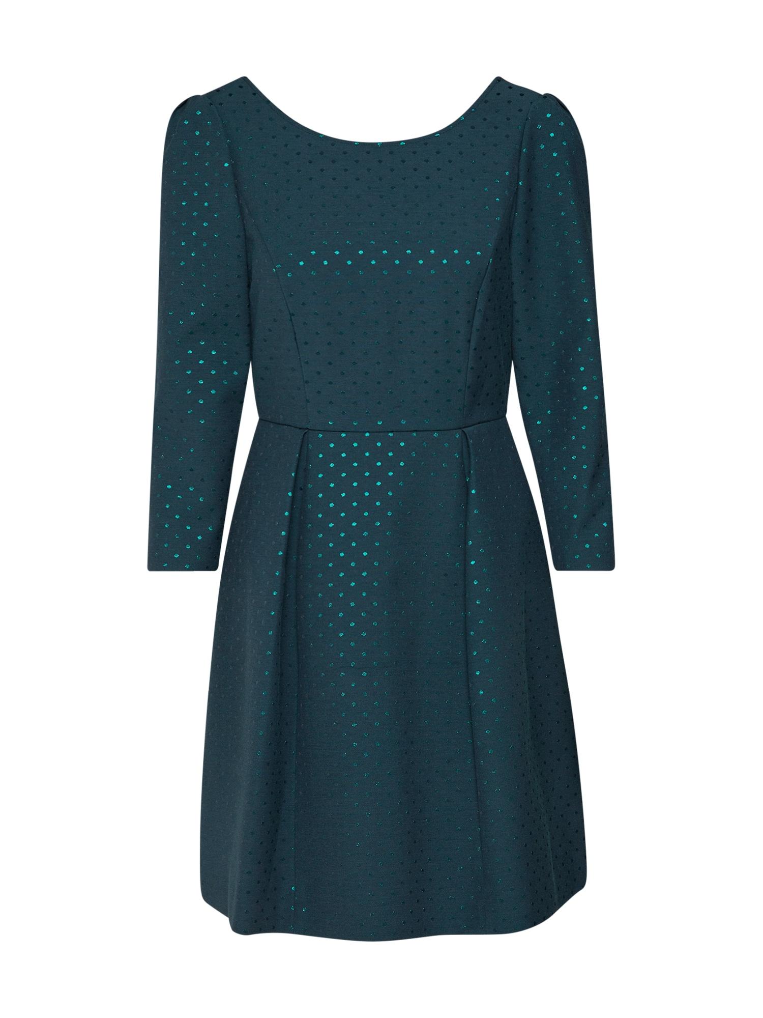 Koktejlové šaty PARIGI petrolejová MAX&Co.