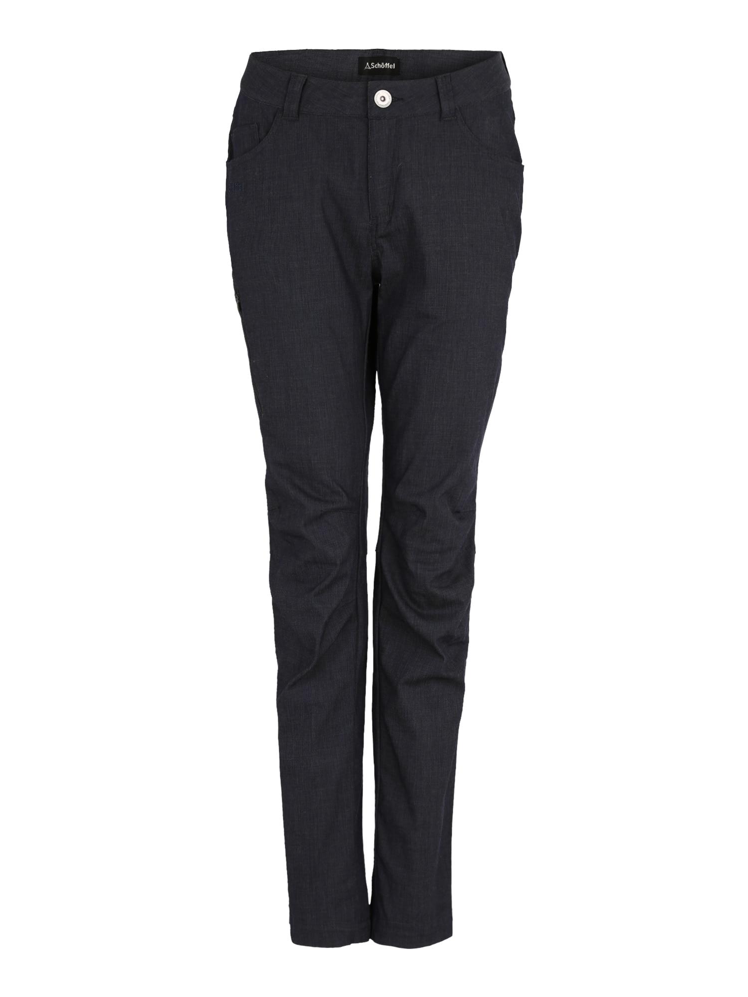 Sportovní kalhoty Alicante antracitová tmavě šedá Schöffel