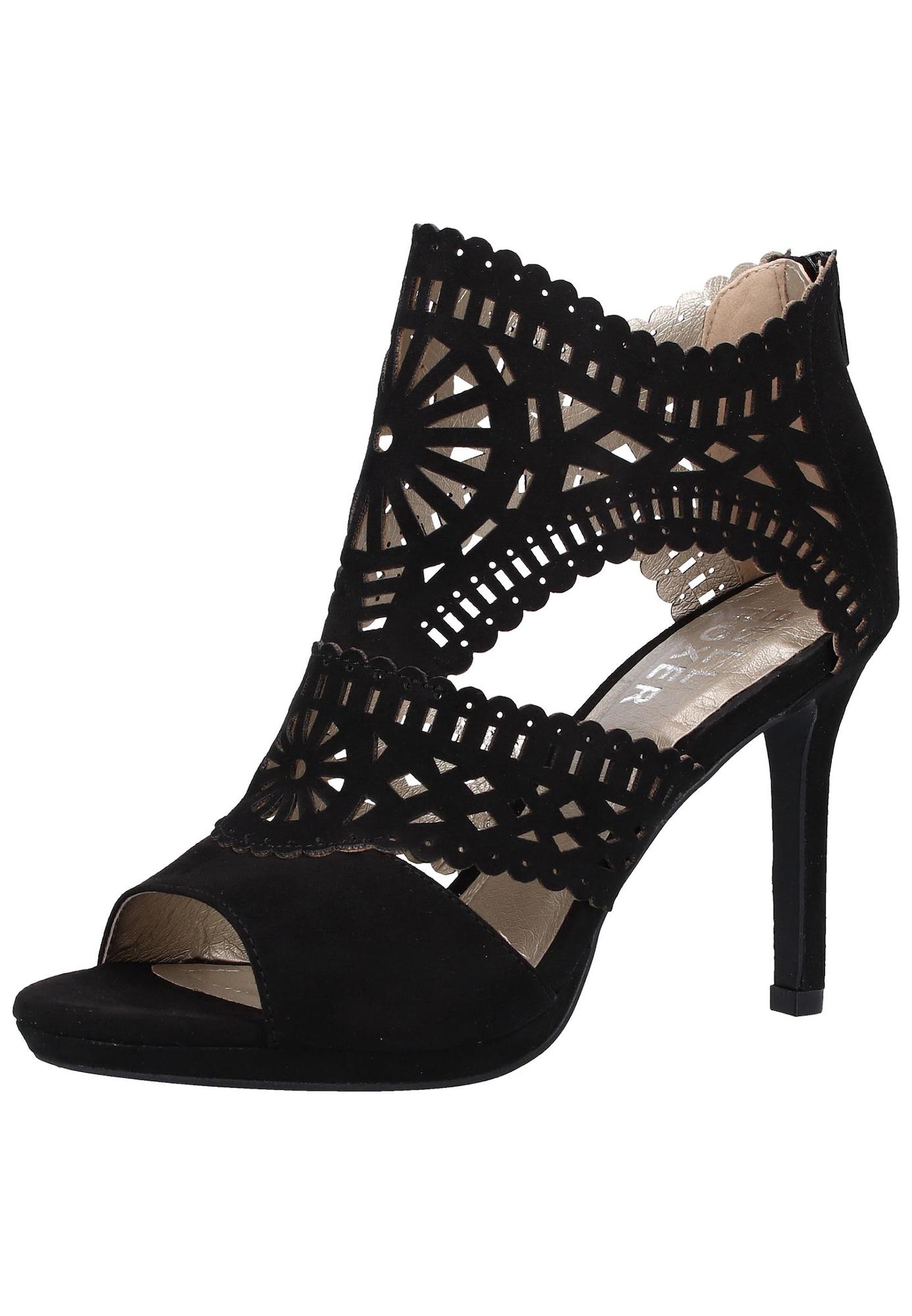 BULLBOXER Sandalai juoda