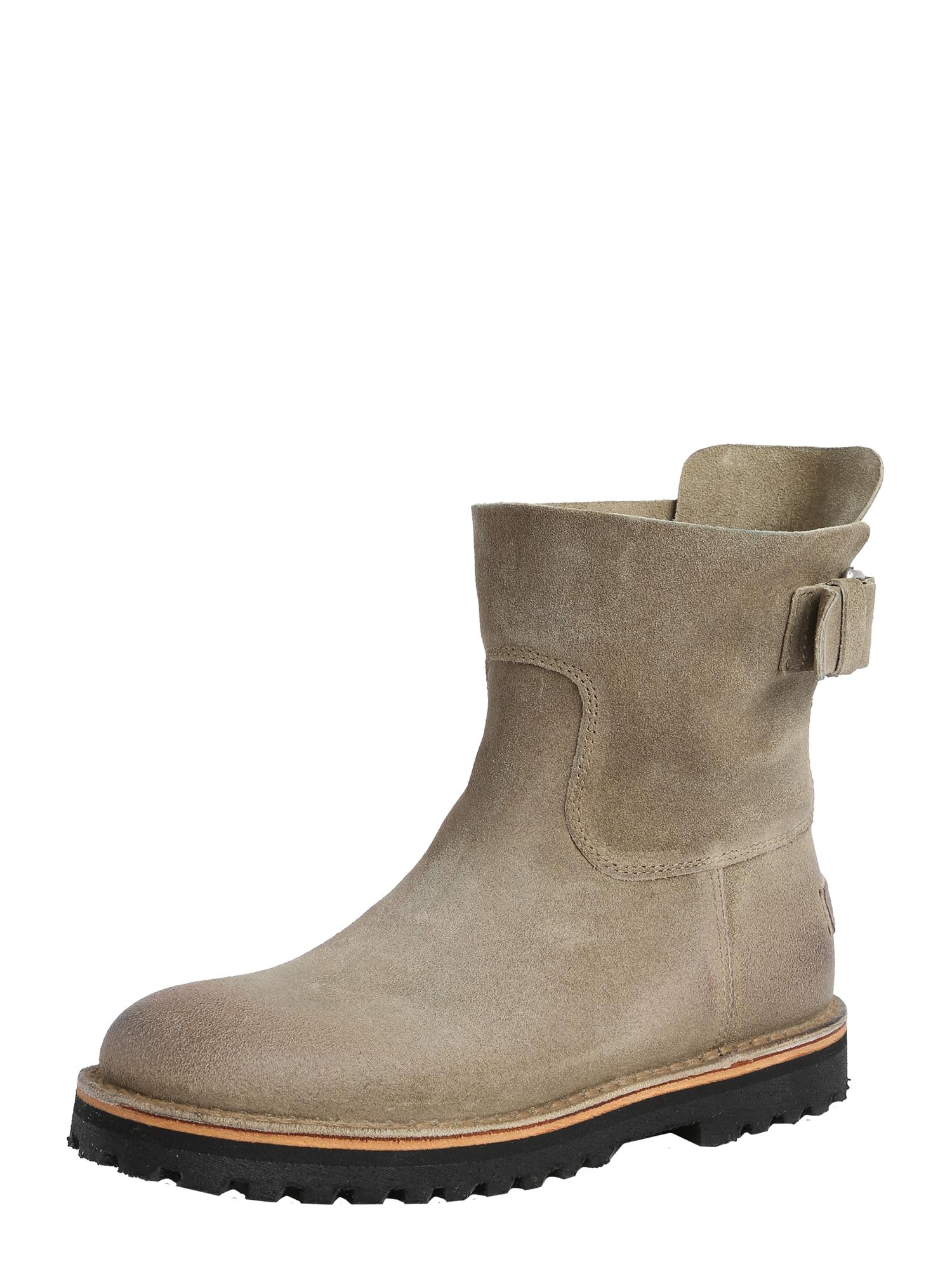 Kotníkové boty béžová SHABBIES AMSTERDAM