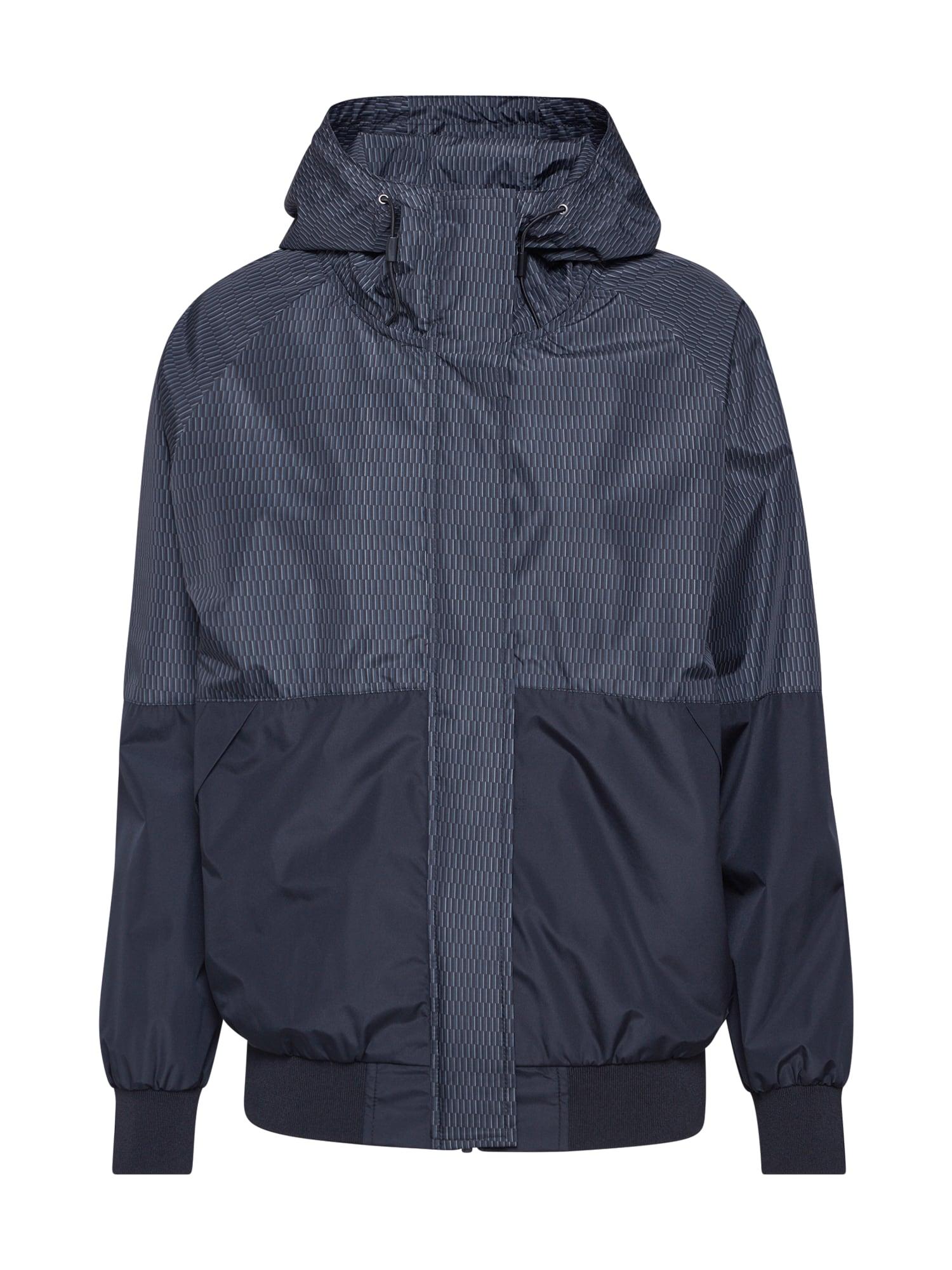 Iriedaily Demisezoninė striukė 'Blurred Jacket' juoda